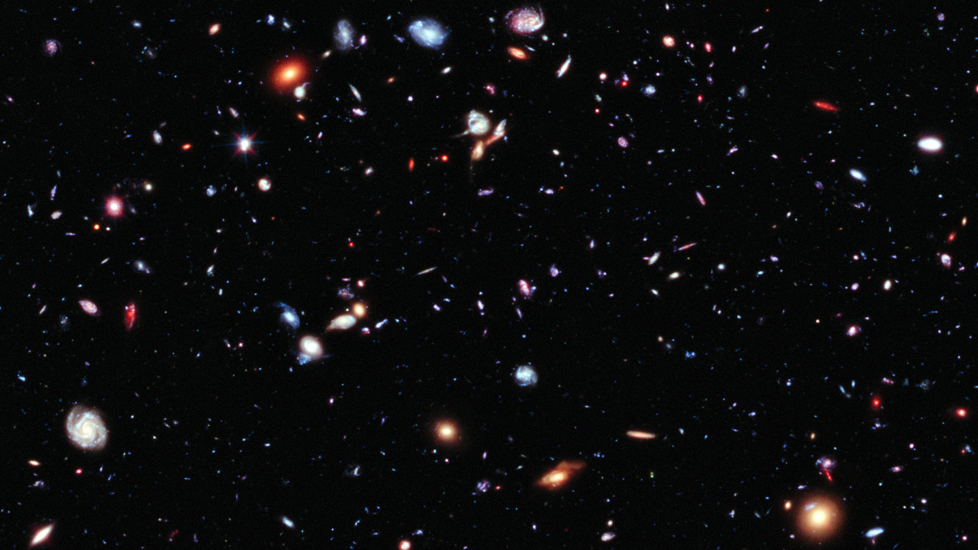 Hubble Deep Field HD – Pics about space