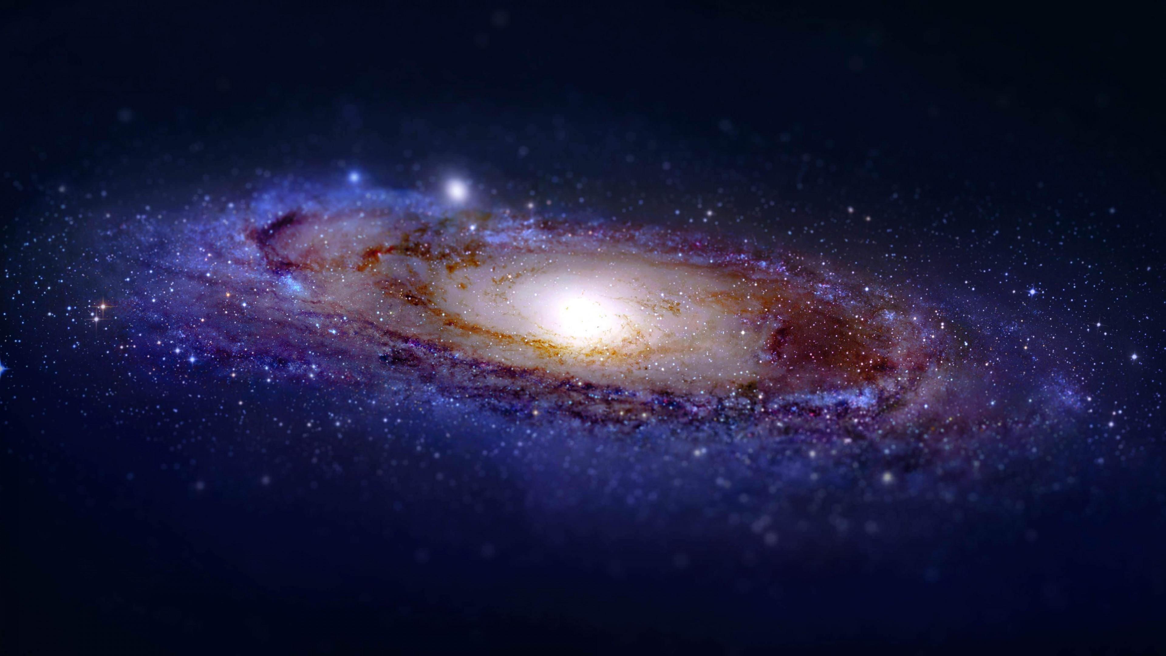 Andromeda galaxy tilt shift wallpaper for 4k 136 .