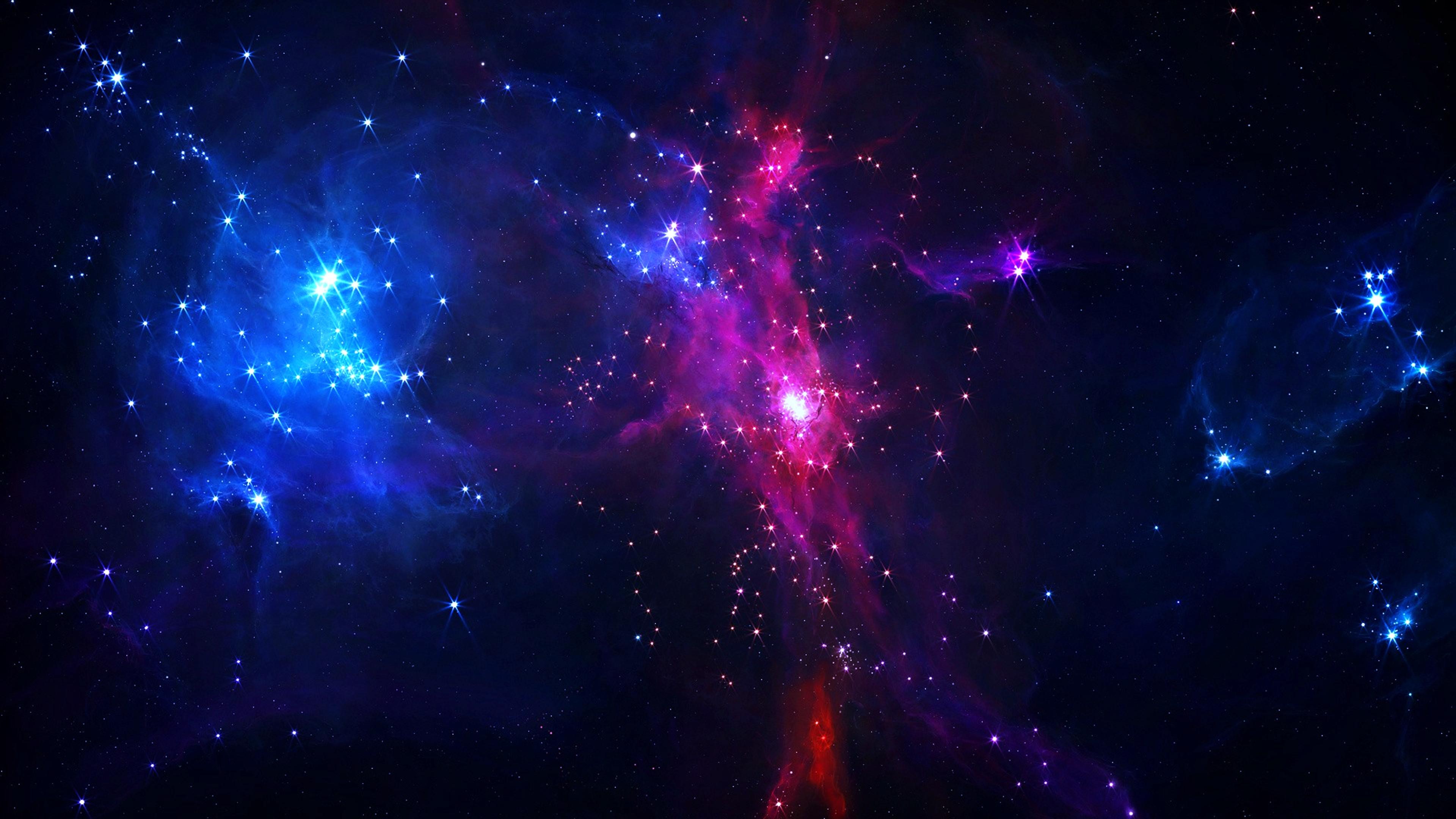 Galaxy Colors 4K Wallpaper 768×432