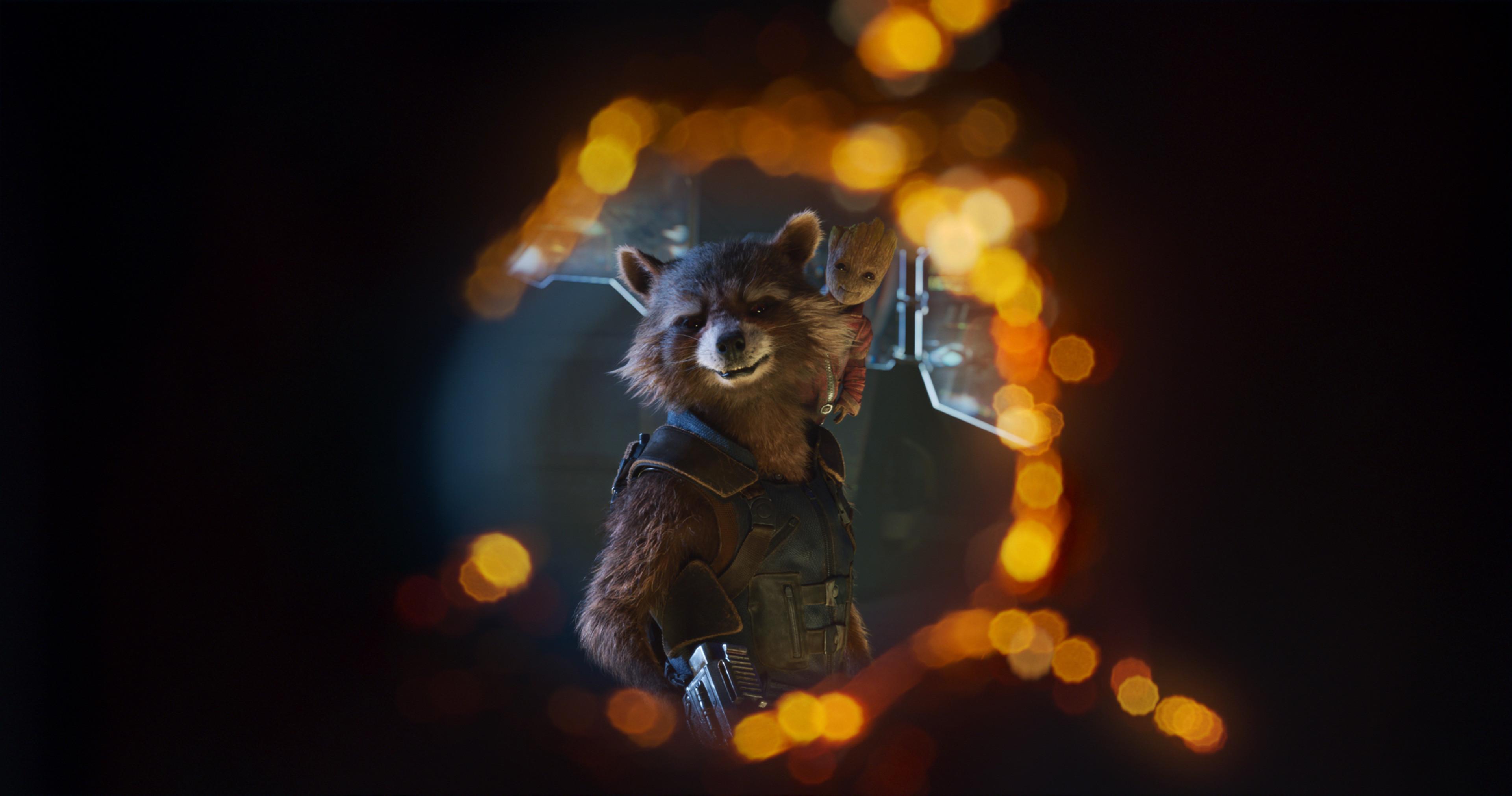 Rocket Raccoon, Baby Groot, Guardians of the Galaxy Vol 2