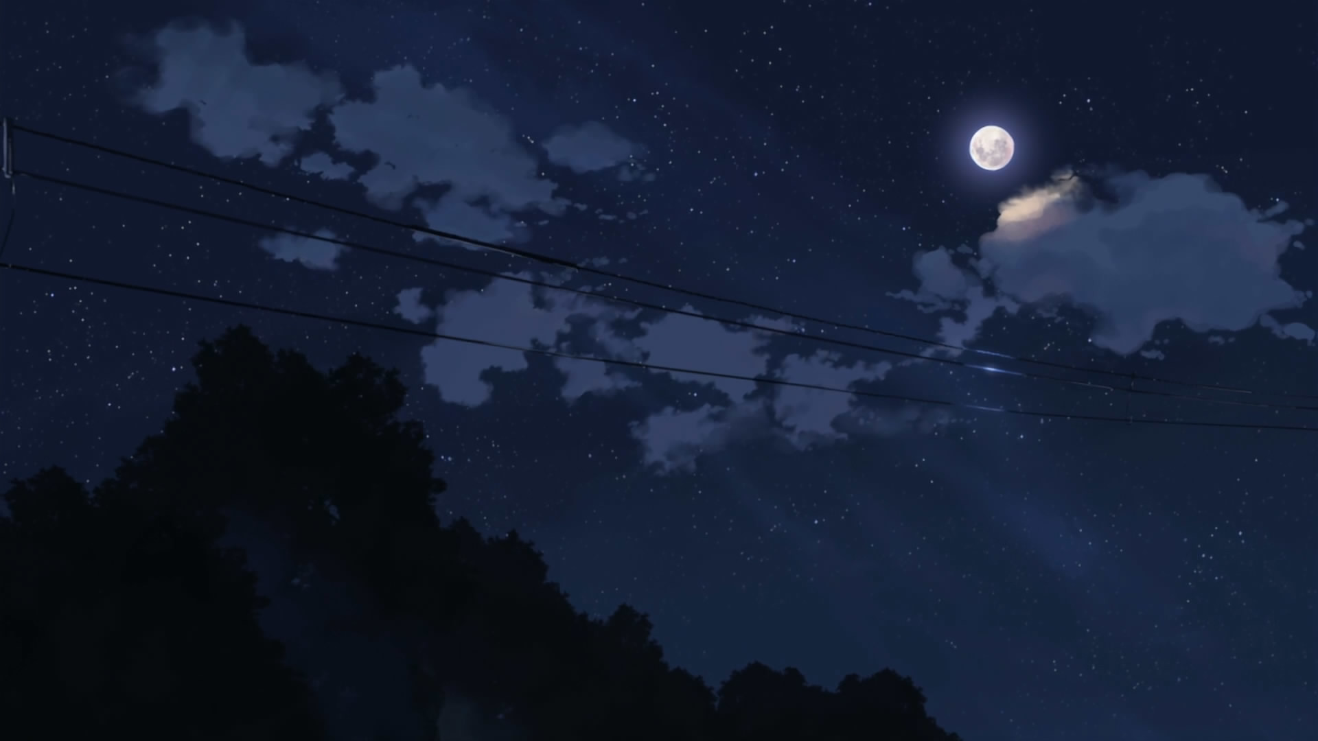 … Anime Night Sky Background Download anime night sky wallpaper 5776 free  powerpoint background