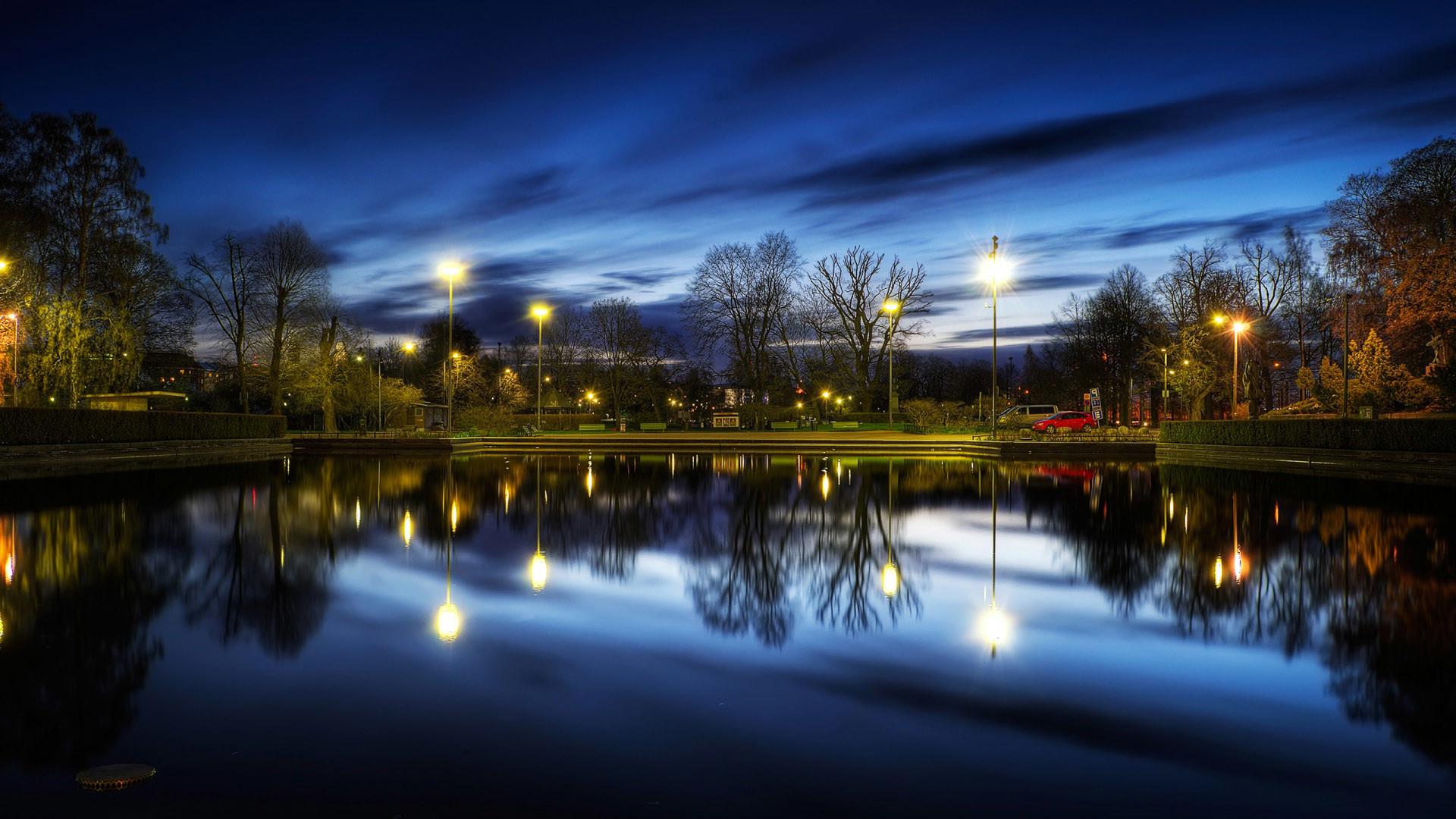 Beautiful Night HD Wallpaper