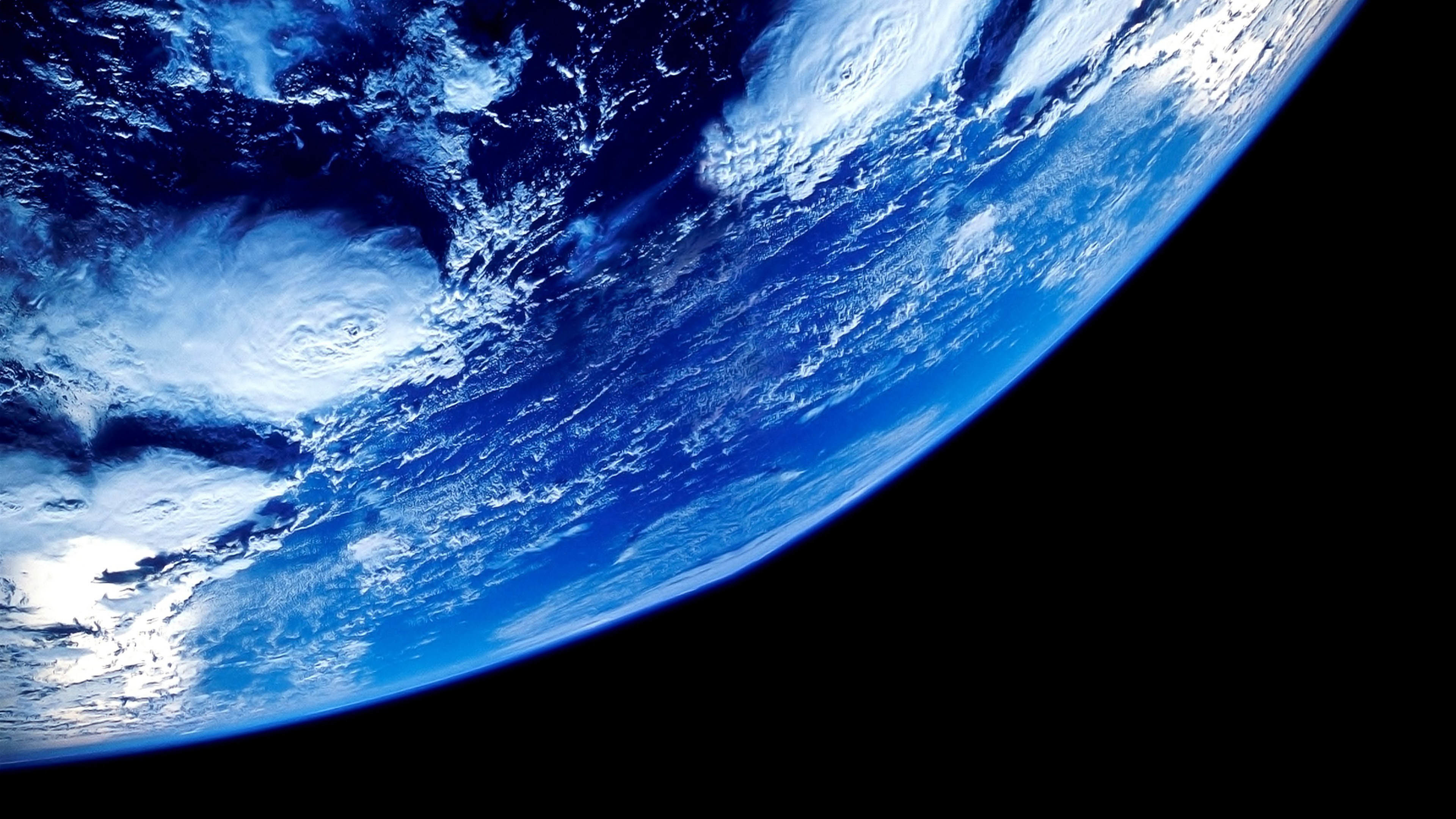 Our Blue Planet from Outer Space wallpaper