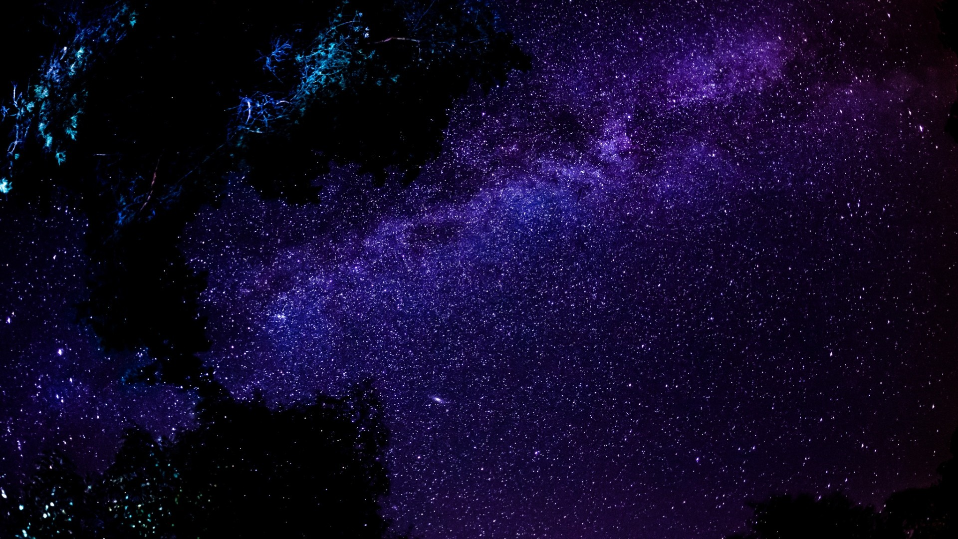 Wallpaper milky way, stars, night, sky, space