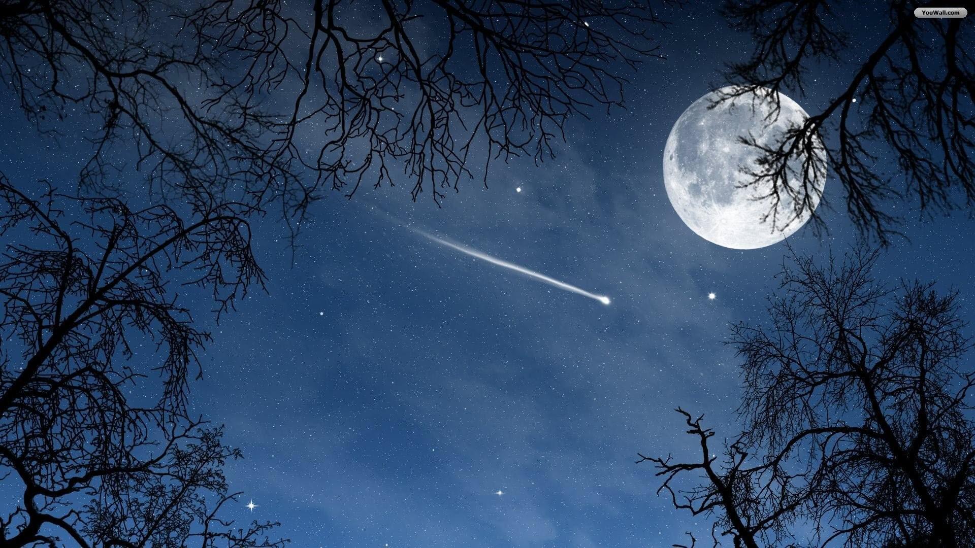 YouWall – Night Sky Wallpaper – wallpaper,wallpapers,free wallpaper .