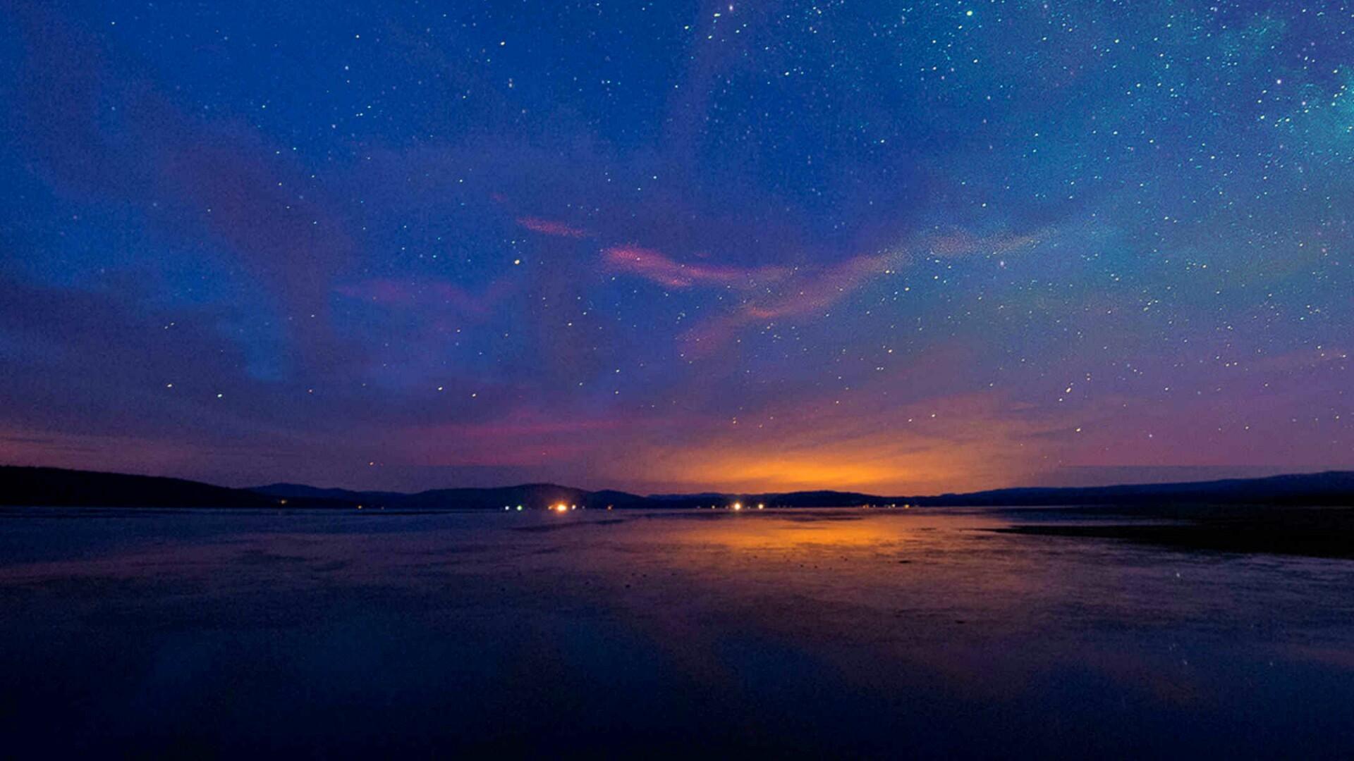 Title. Starry night sky ✨