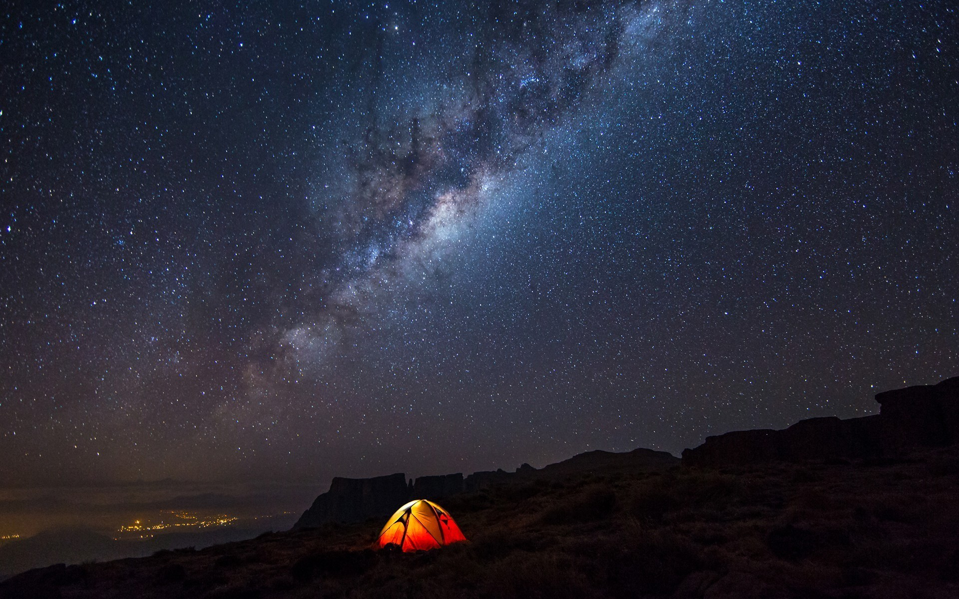 Night Camp Sky Stars wallpapers (50 Wallpapers)