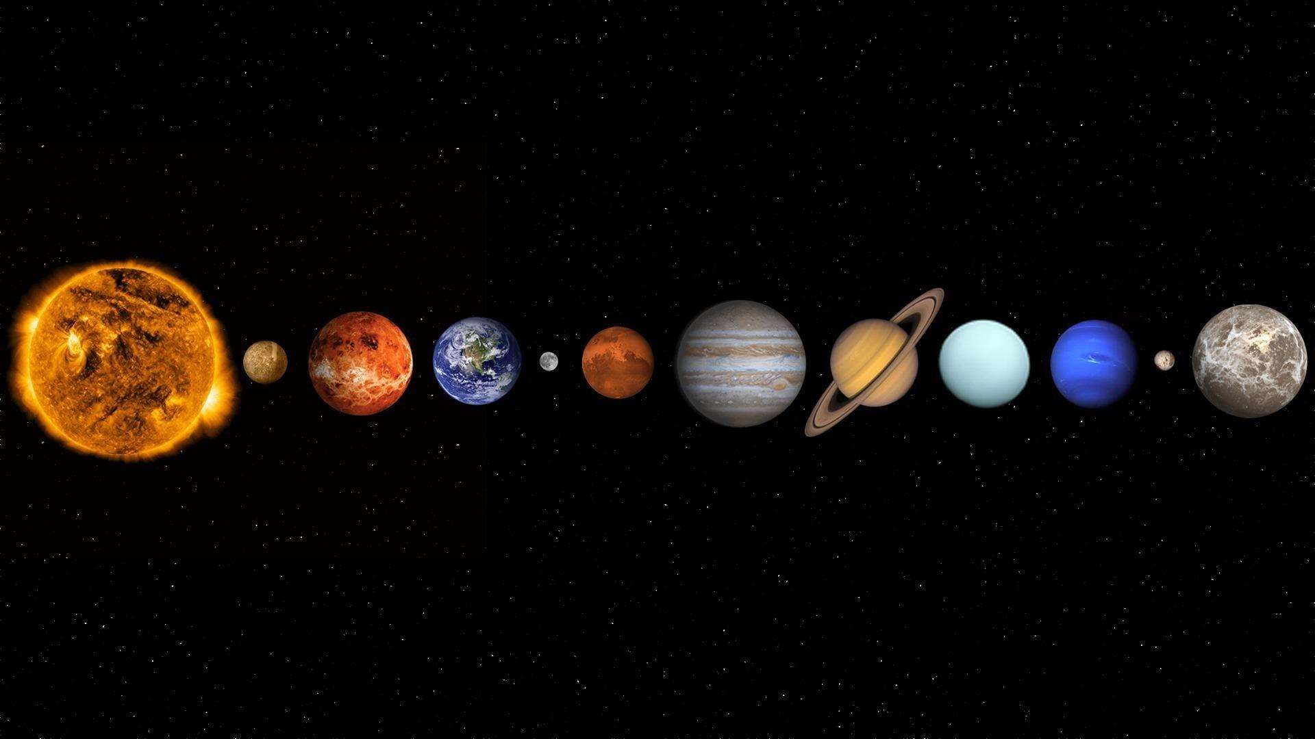 solar system wallpaper hd