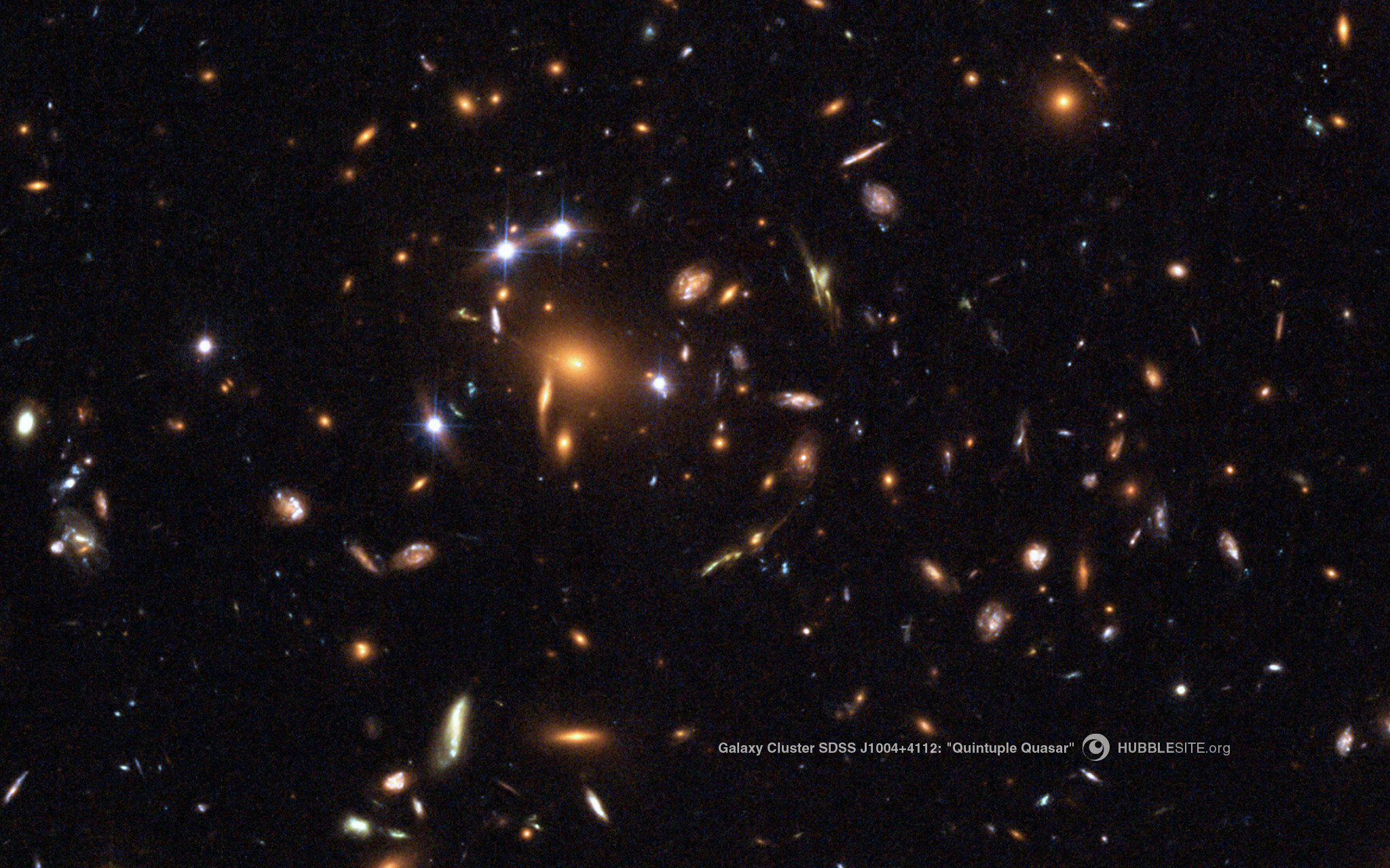 4 – A Gravitationally Lensed Quasar