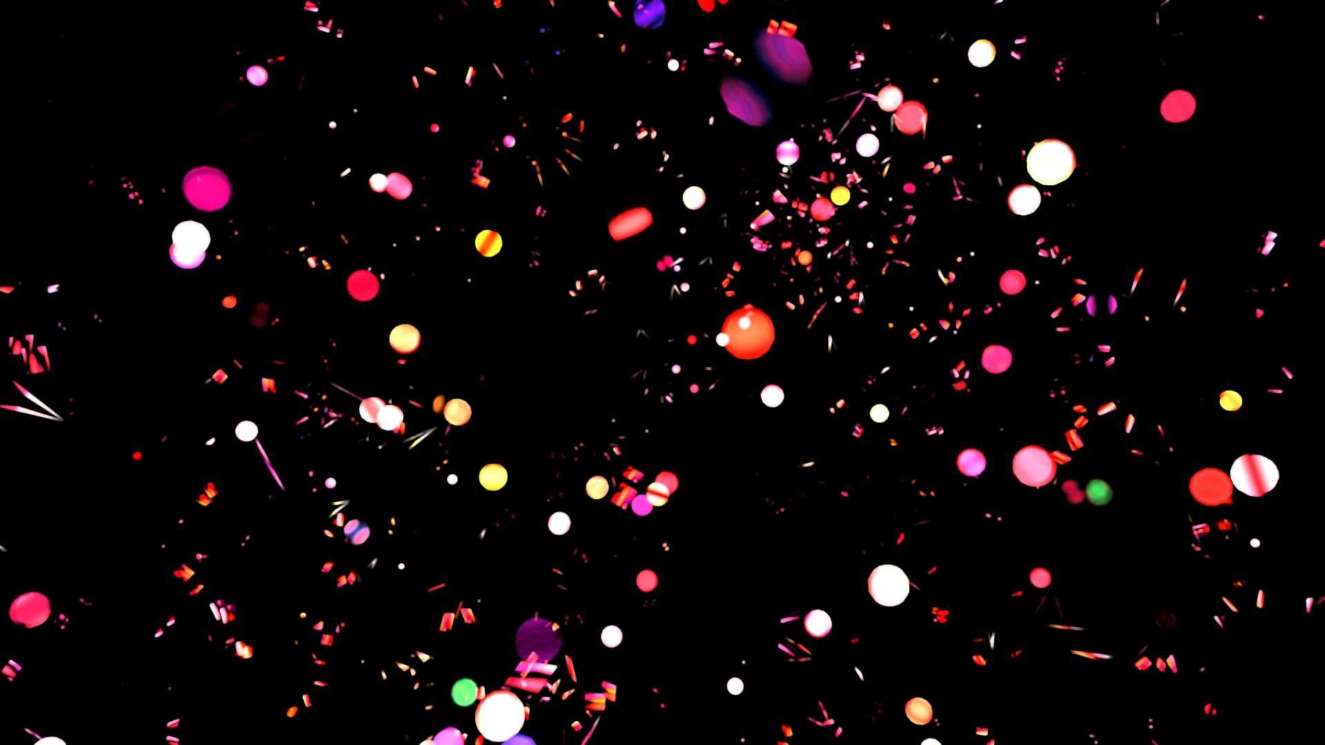 4K Magical Rainbow Blink Bulbs Realm Background video