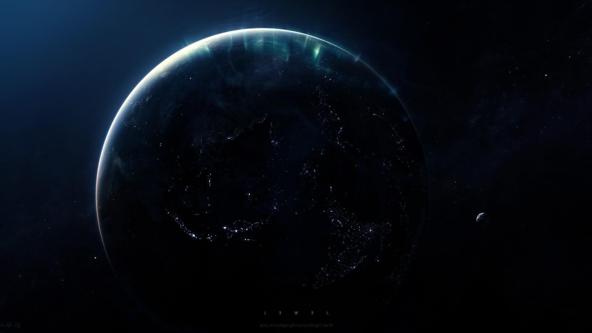 space, Artwork, Planet, Greg Martin, Space Art. Hubble Deep Field …