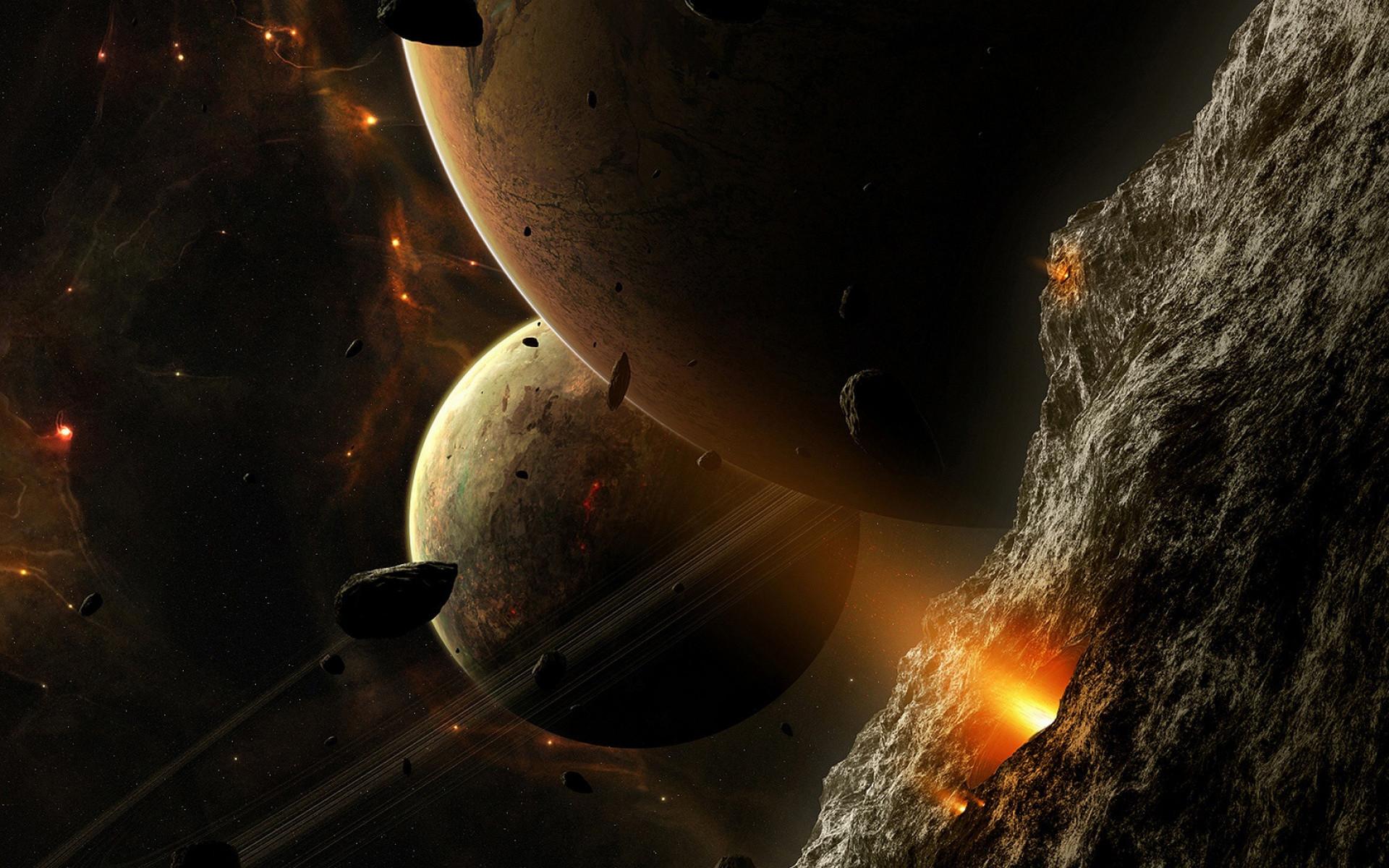 Sci Fi – Planets Wallpaper