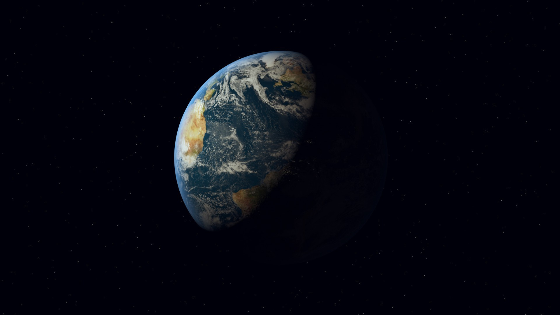 3D, Cinema 4D, Digital Art, Earth, Universe Wallpapers HD / Desktop and  Mobile Backgrounds