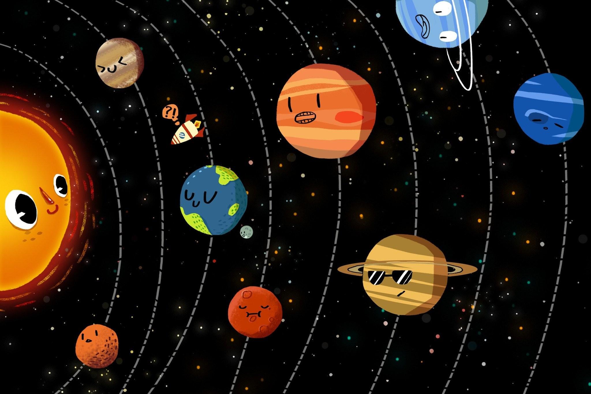 3D Universe Plannets 682