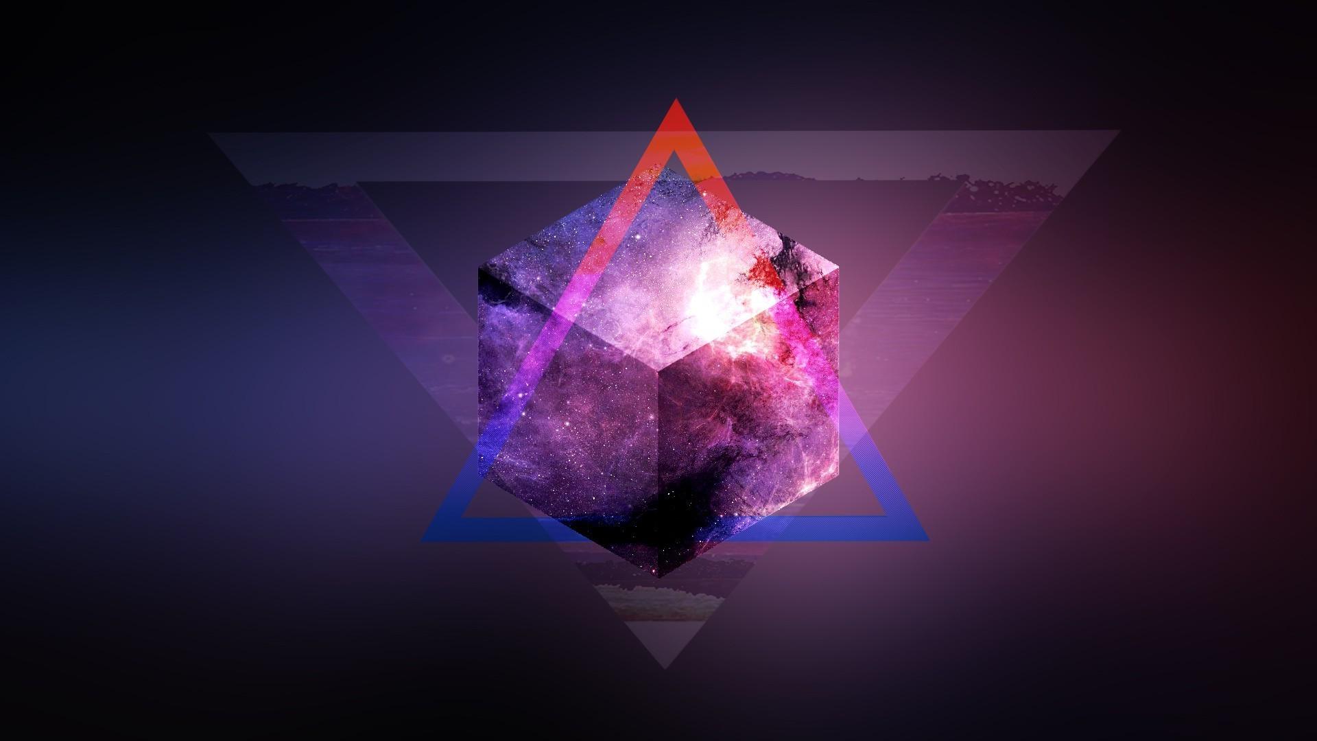 Triangle Space Wallpaper   www.pixshark.com – Images .