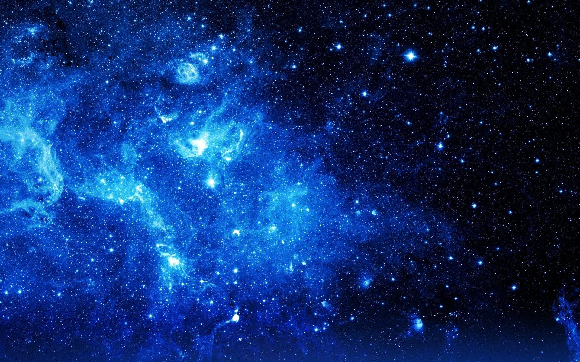 nebula stars in universe space wallpaper