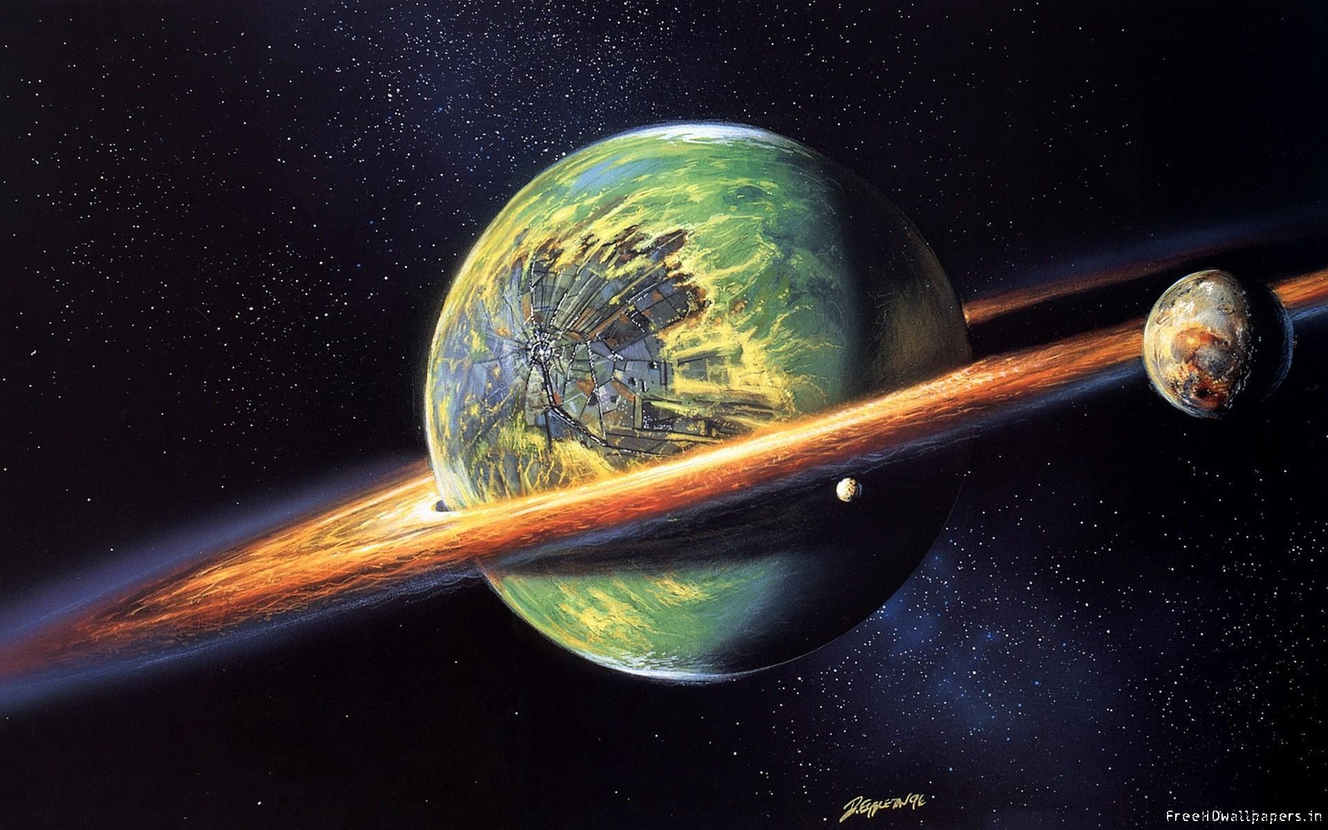 wallpaper-3D planet wallpaper-1920×1200-HD.jpg (1920×1200)   Saturn    Pinterest   Planets and Wallpaper