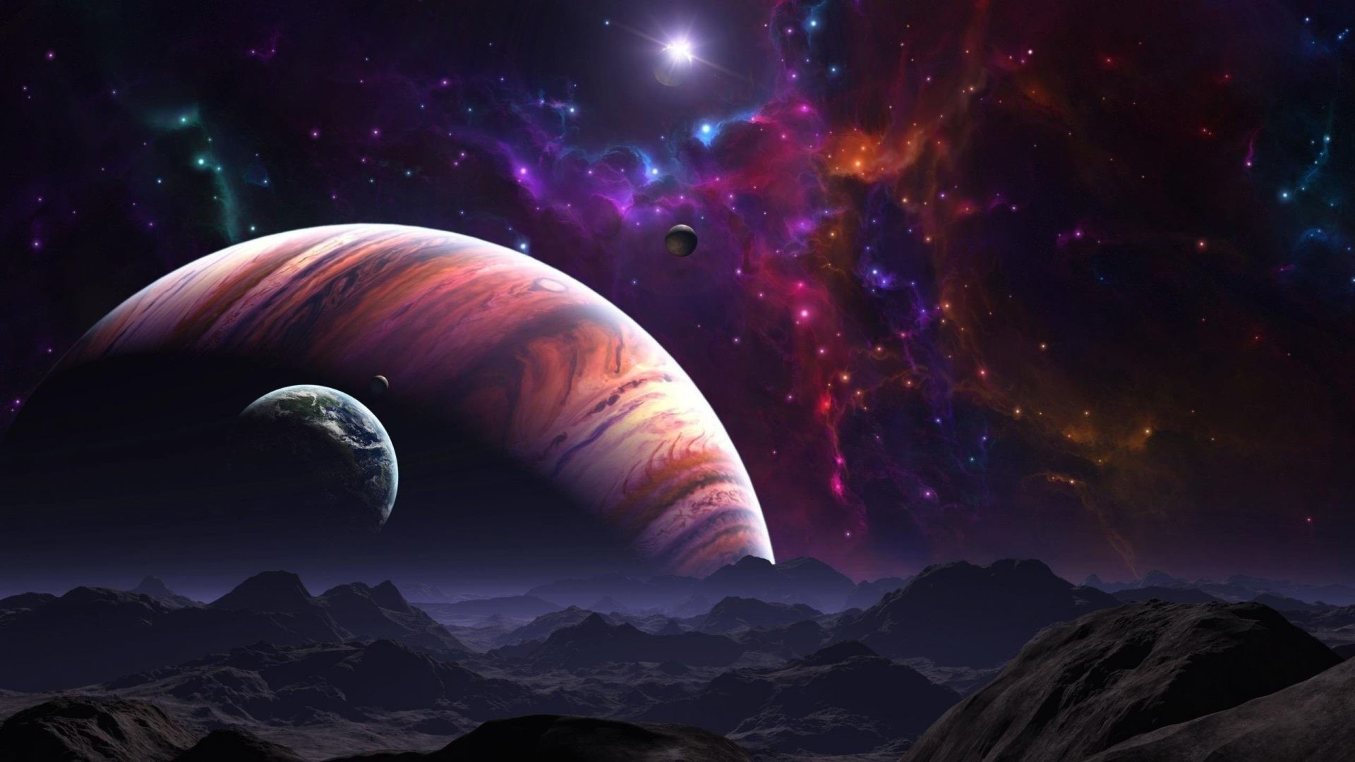 Stars Tag – Planet Galaxy Star Univers Planets Stars Space New 3d Nature  Wallpaper Download for