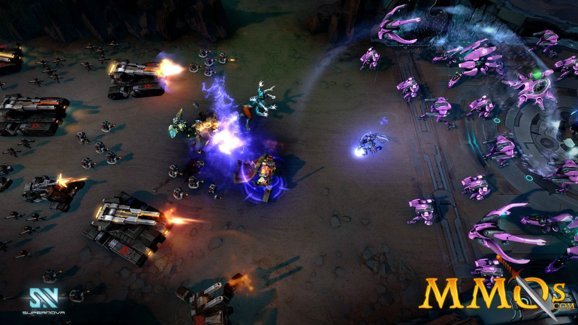 supernova screenshot game