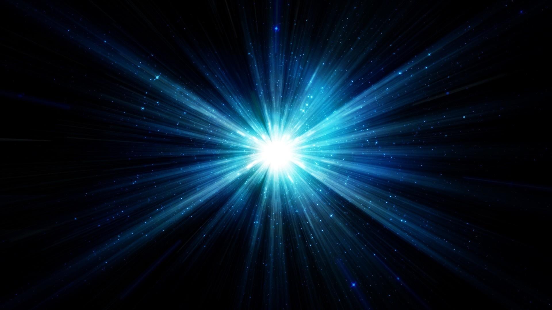minimalism, Digital Art, Stars, Supernova, Black Background, Blue Wallpapers  HD / Desktop and Mobile Backgrounds