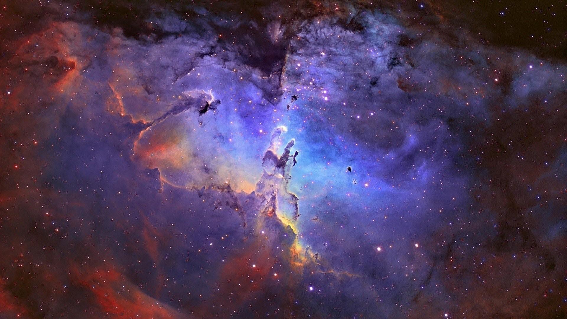 Eagle Nebula Outer Space