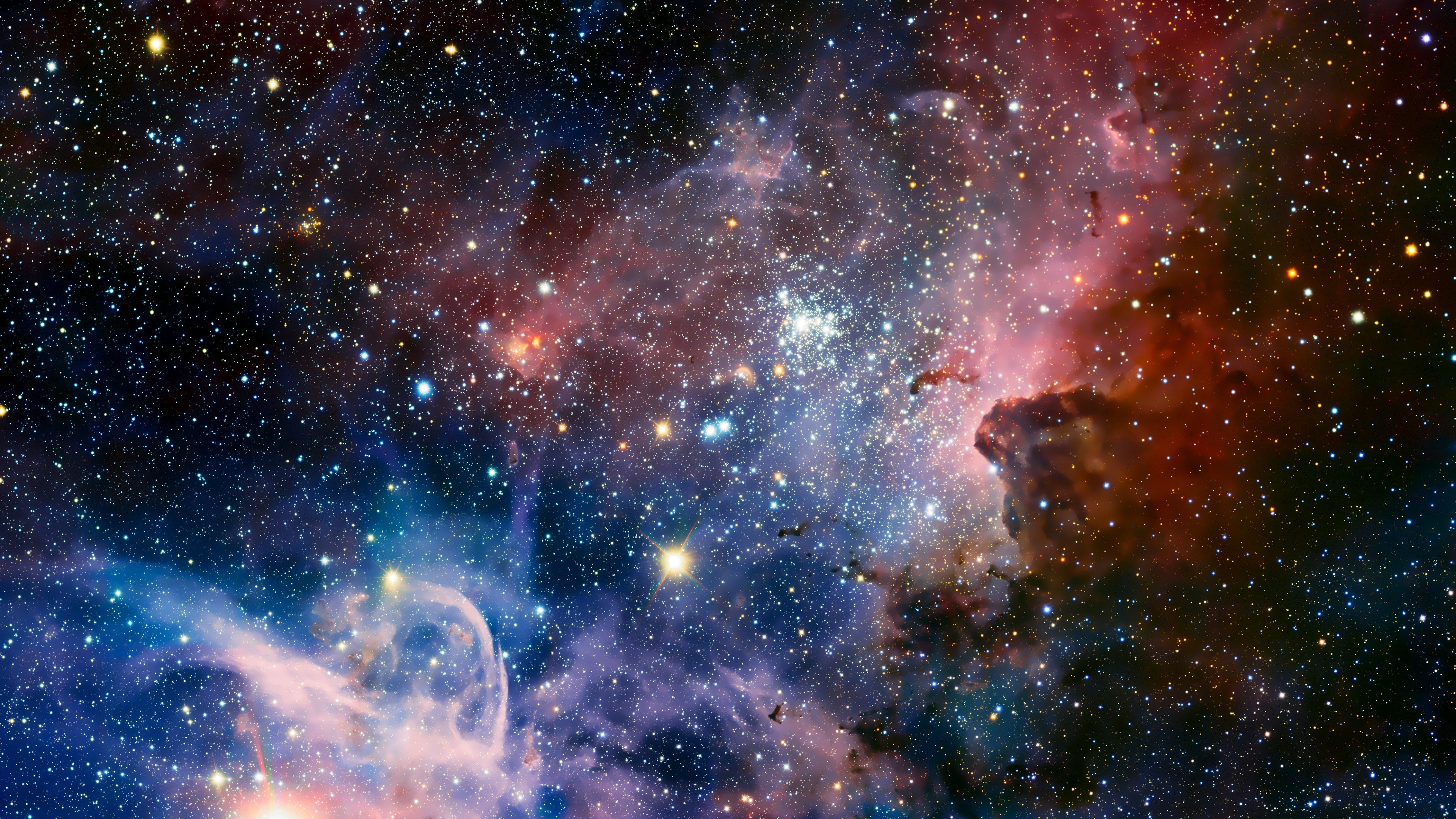 Galaxy Nebula Outer Space Stars