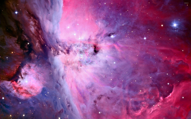 Violet nebula wallpaper jpg
