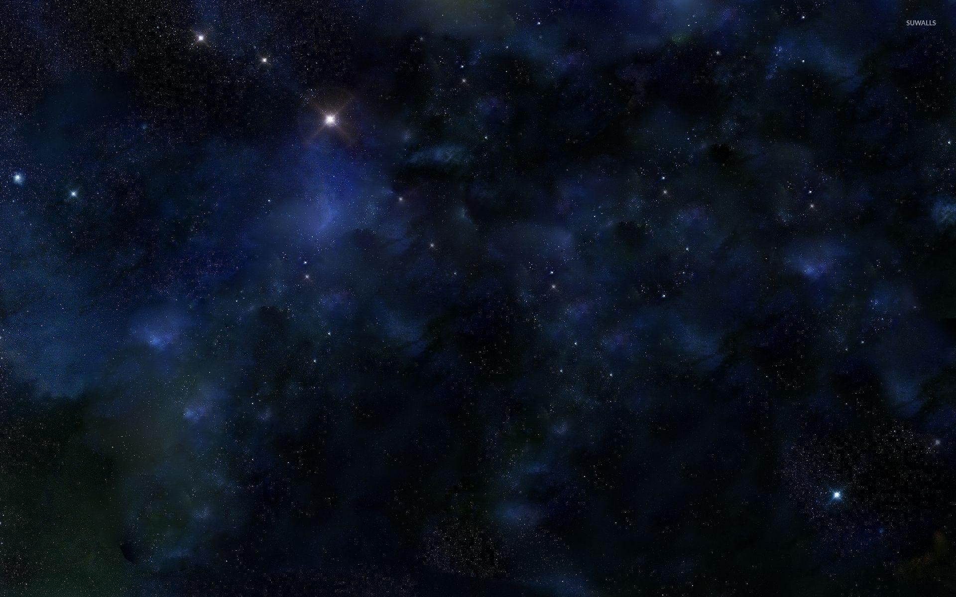 Light in the blue universe wallpaper jpg