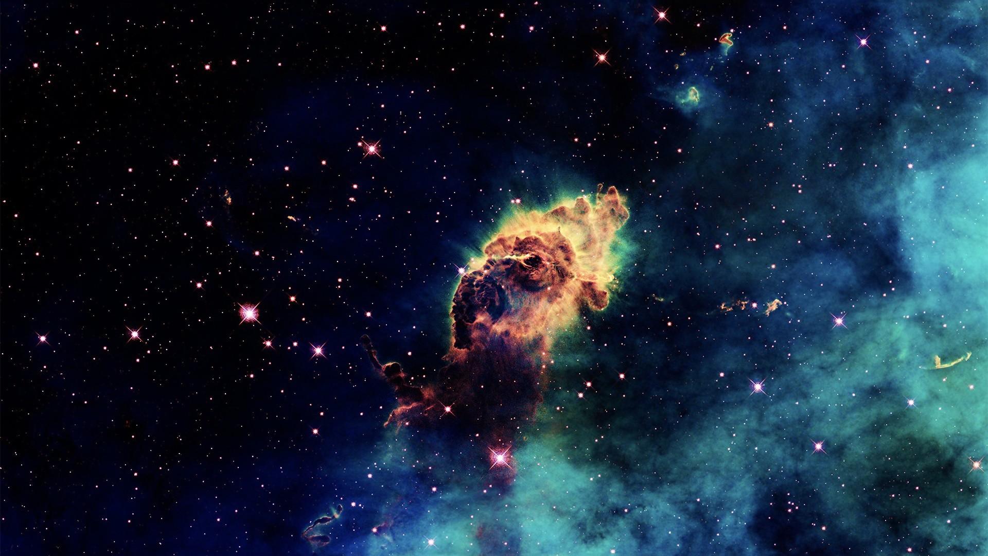 … cloud gas nebula …