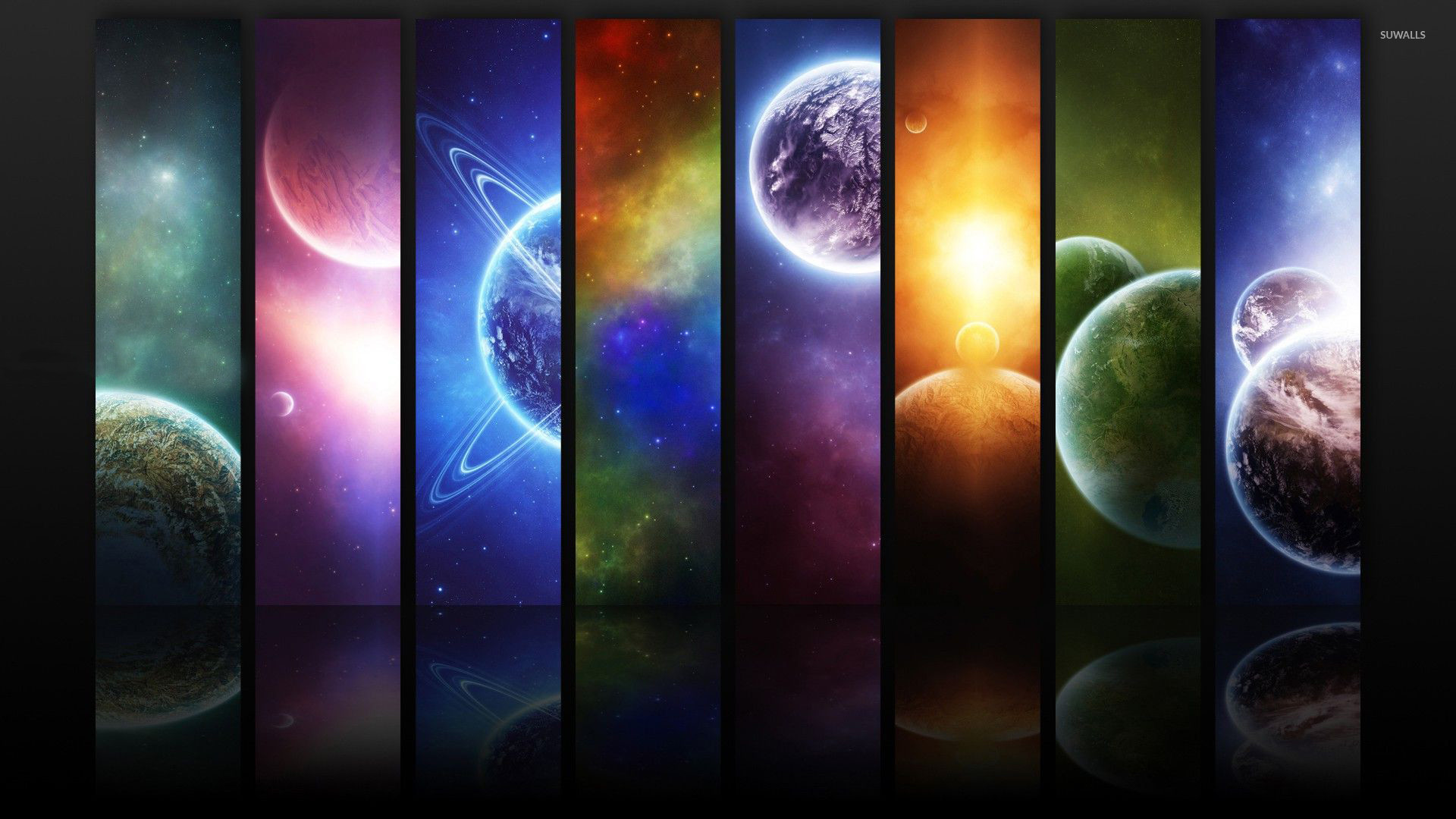 Small portions from the Universe wallpaper jpg