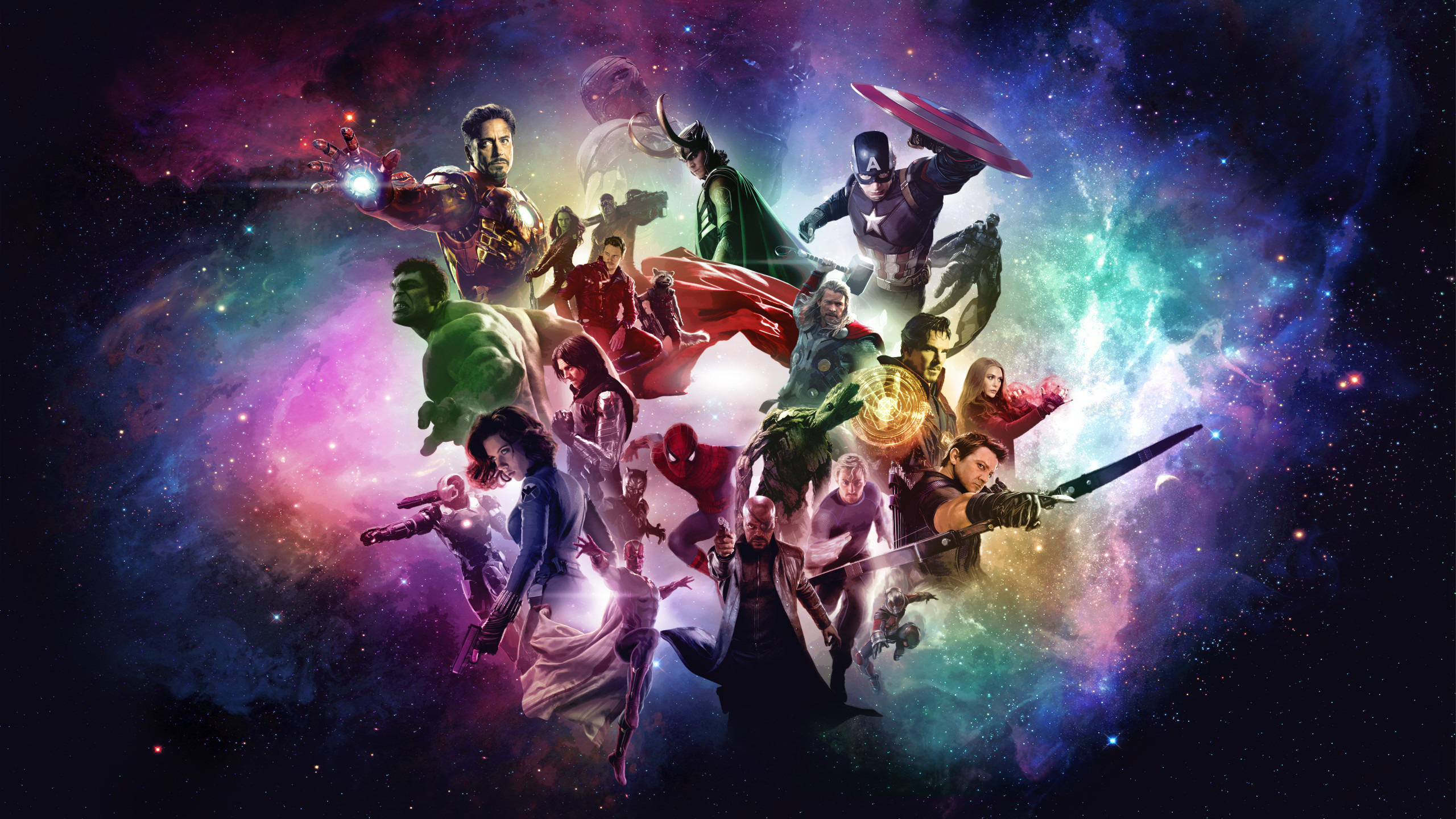 Marvel Cinematic Universe Wallpaper by RockLou Marvel Cinematic Universe  Wallpaper by RockLou