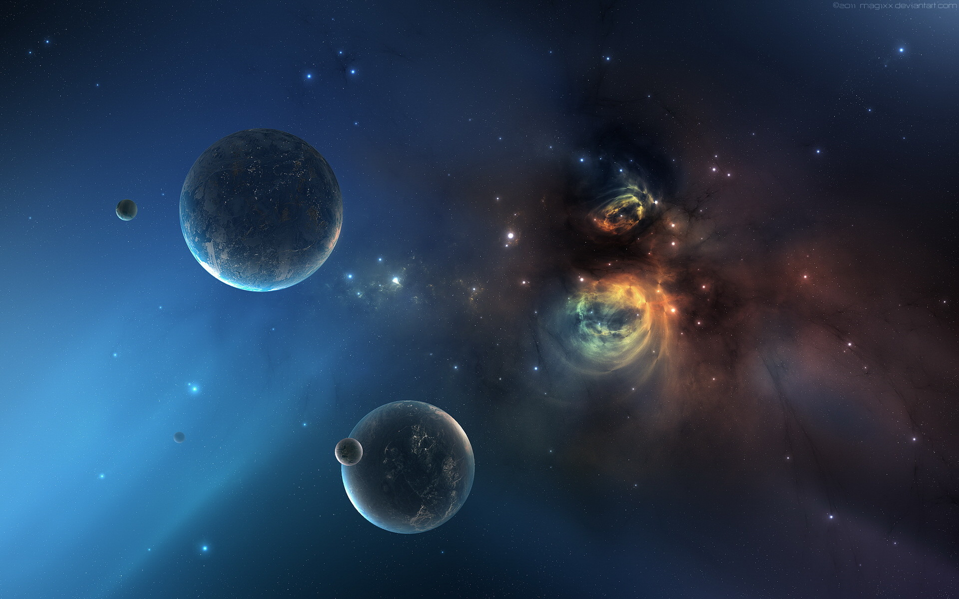 Dark Universe Space Wallpaper. Download …
