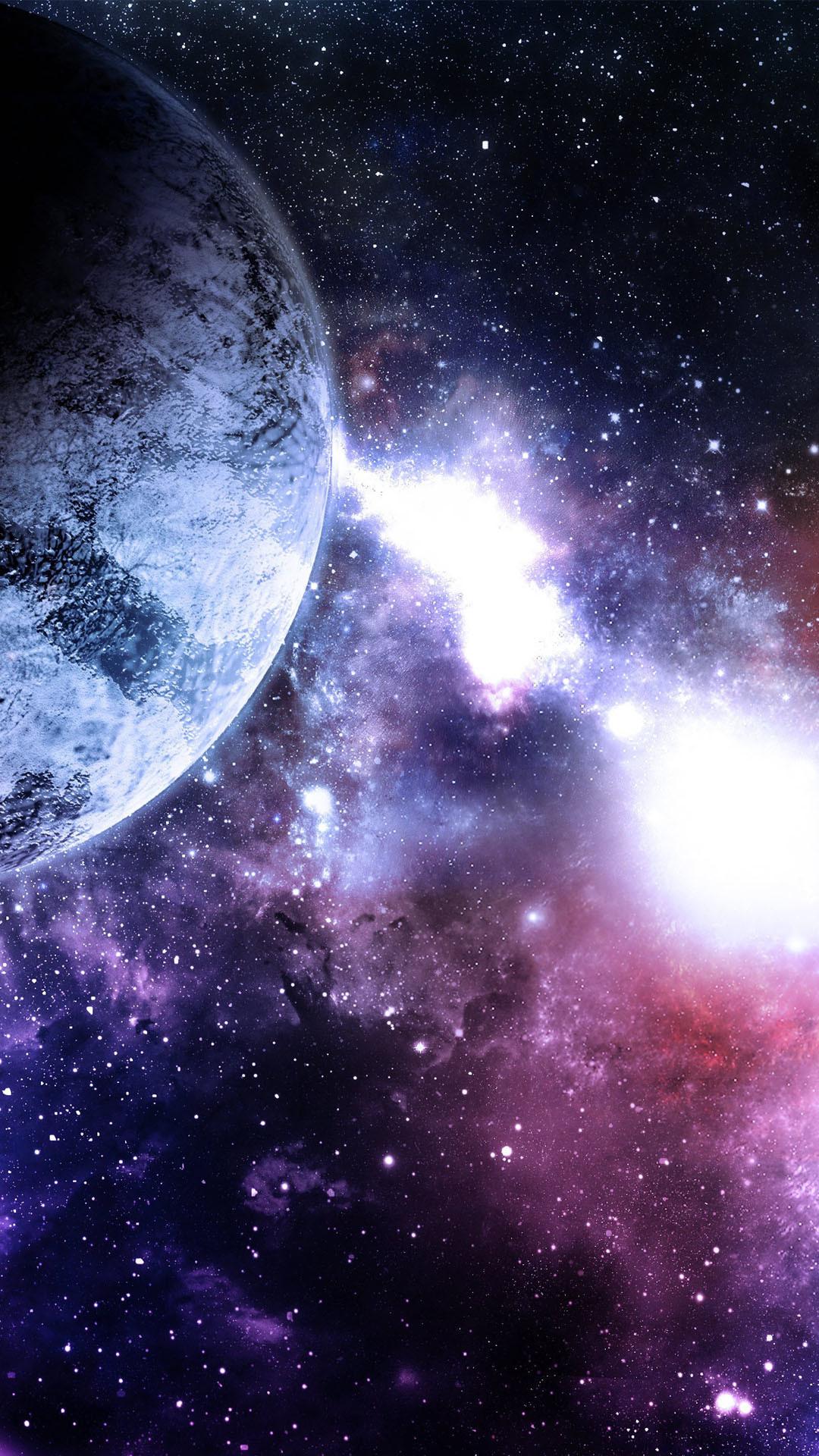 Universe Stellar Light Planet Android Wallpaper …
