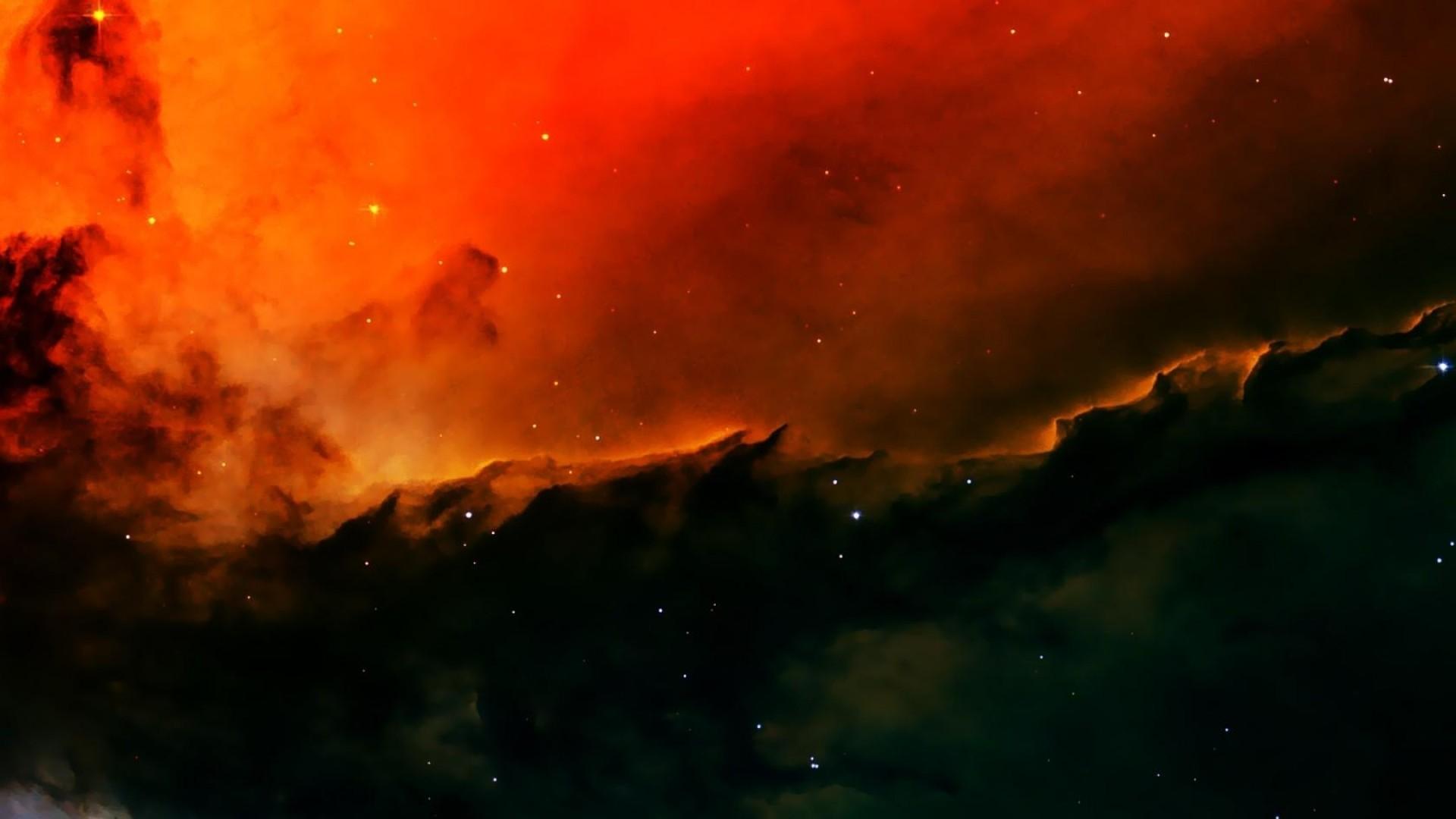 Wallpaper nebula, space, galaxy, stars