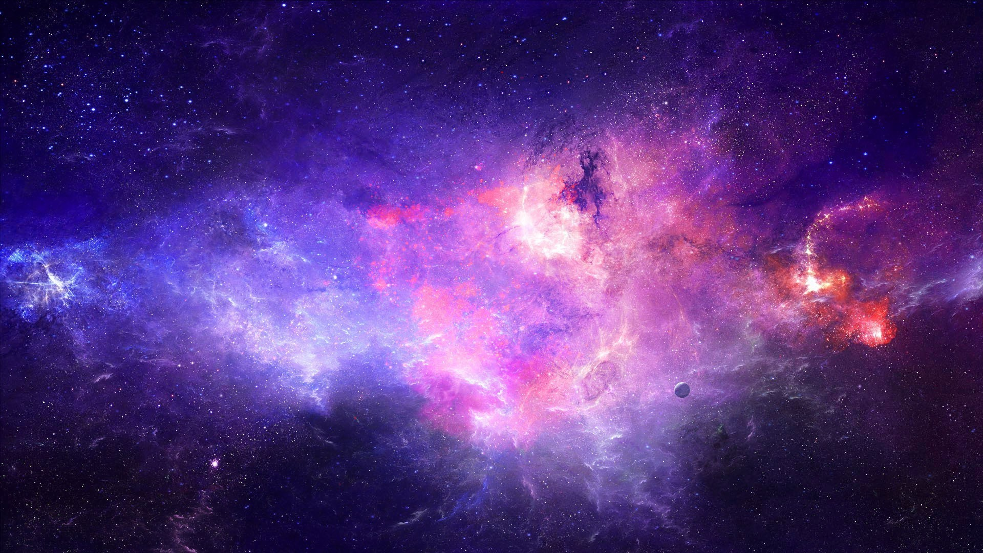 Colorful Galaxy Wallpaper 1080p As Wallpaper HD