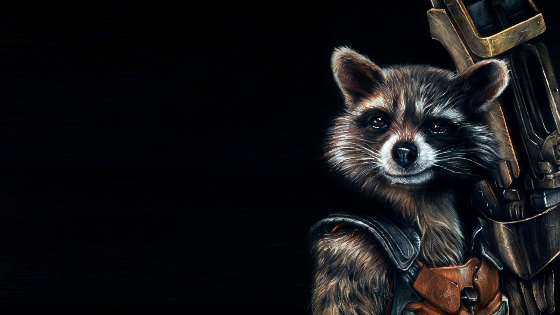 Wallpaper guardians of the galaxy, raccoon, rocket