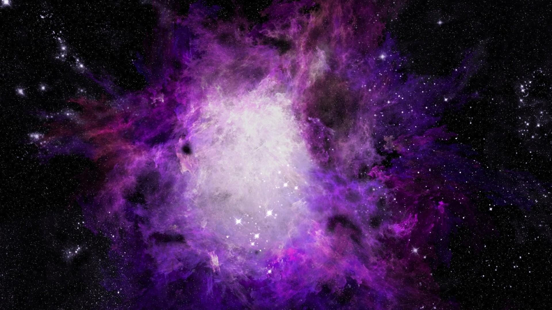 Purple Galaxy Picture For Desktop Wallpaper 1920 x 1080 px 623.08 KB purple  blue 1080p moon