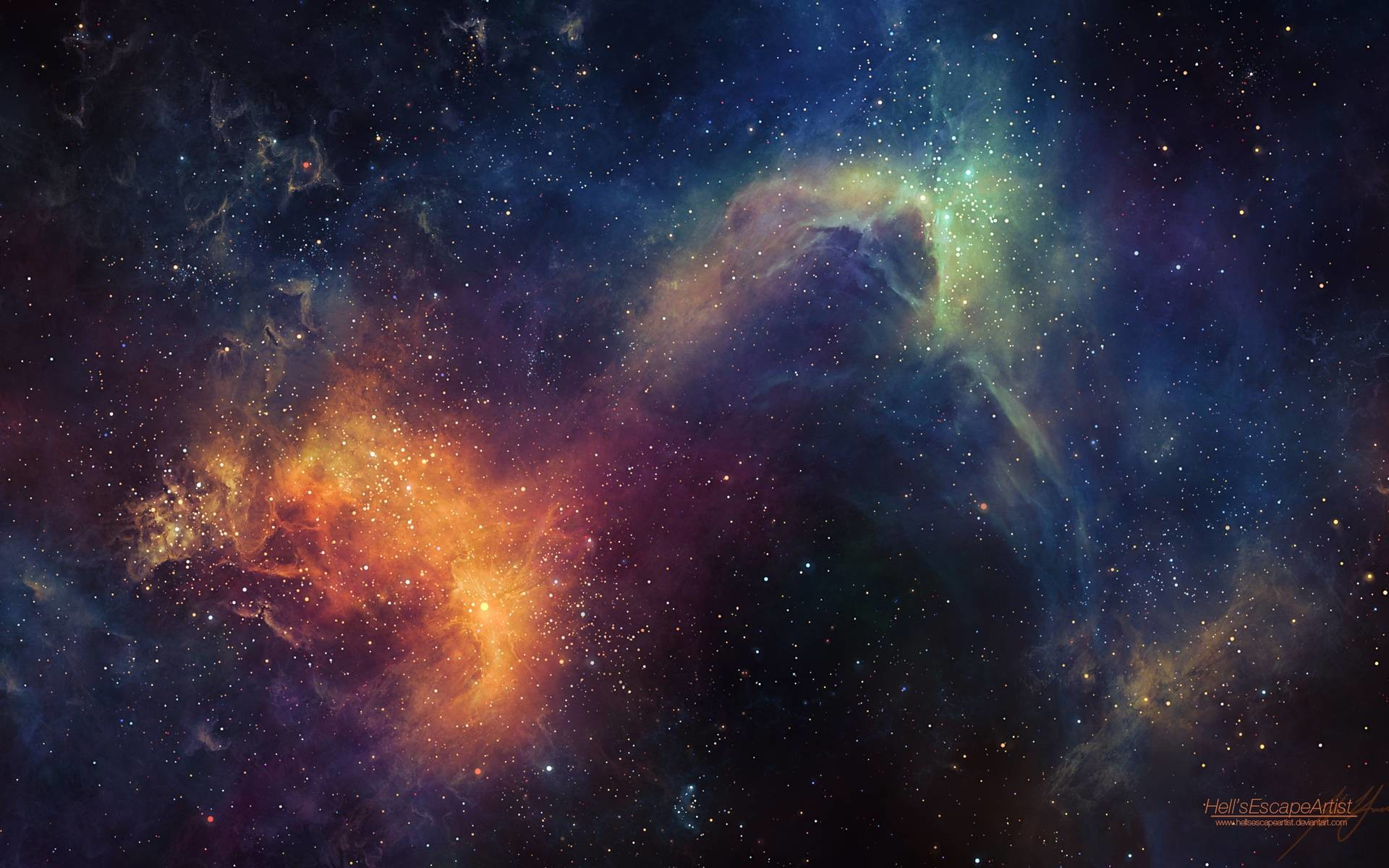 Wallpapers For > Universe Wallpaper 1080p