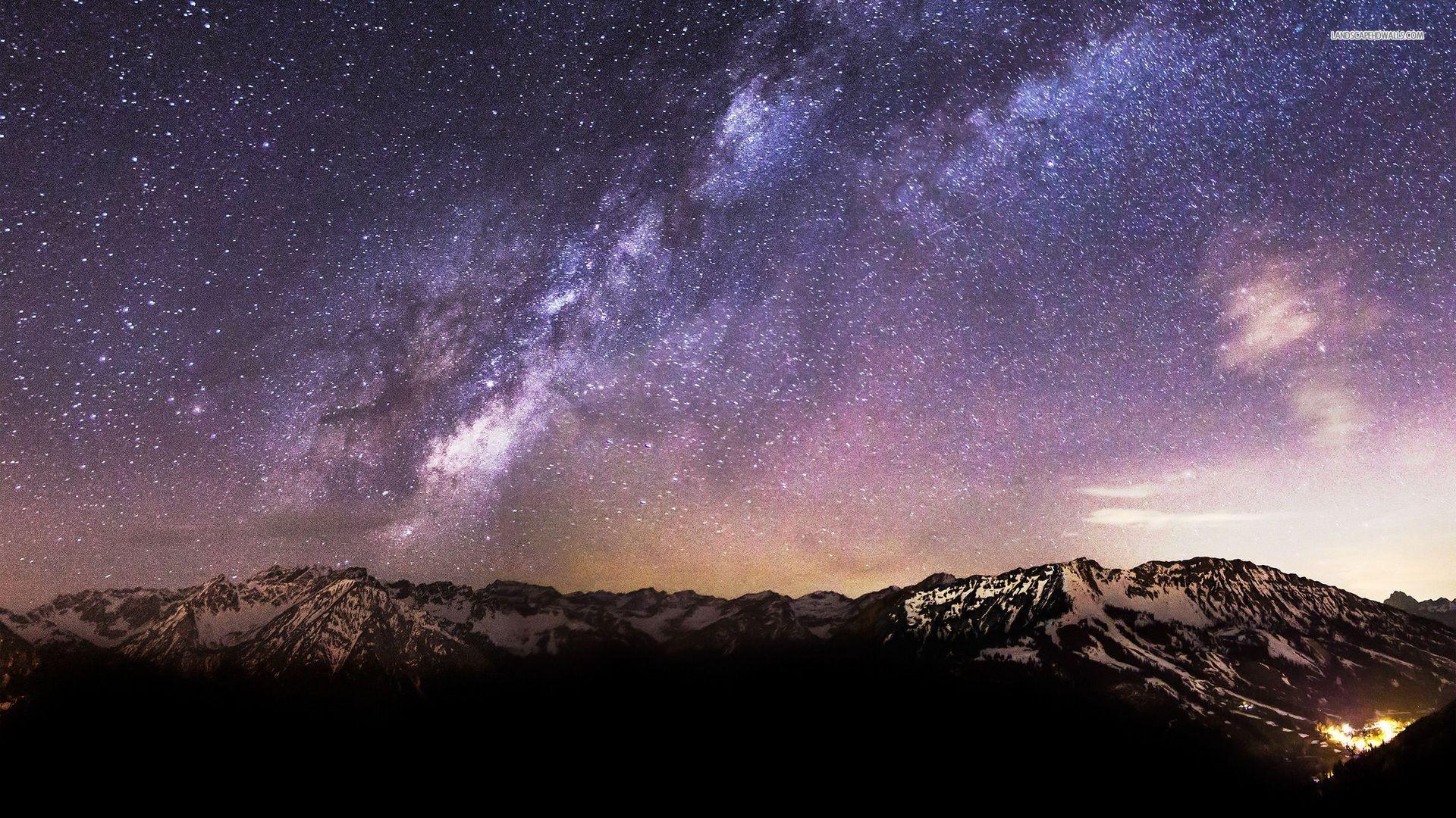 Milky Way Wallpaper 1080p – Wallpaper.
