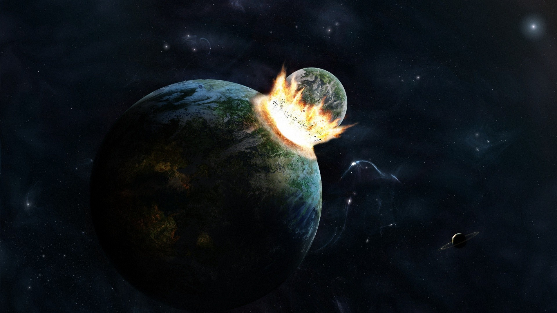 Space Earth High Resolution HD Wallpaper