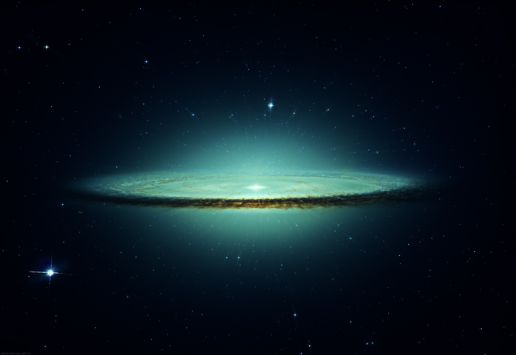 Galaxy, Sombrero Galaxy Wallpapers HD / Desktop and Mobile Backgrounds ·  cigar galaxy hi res …