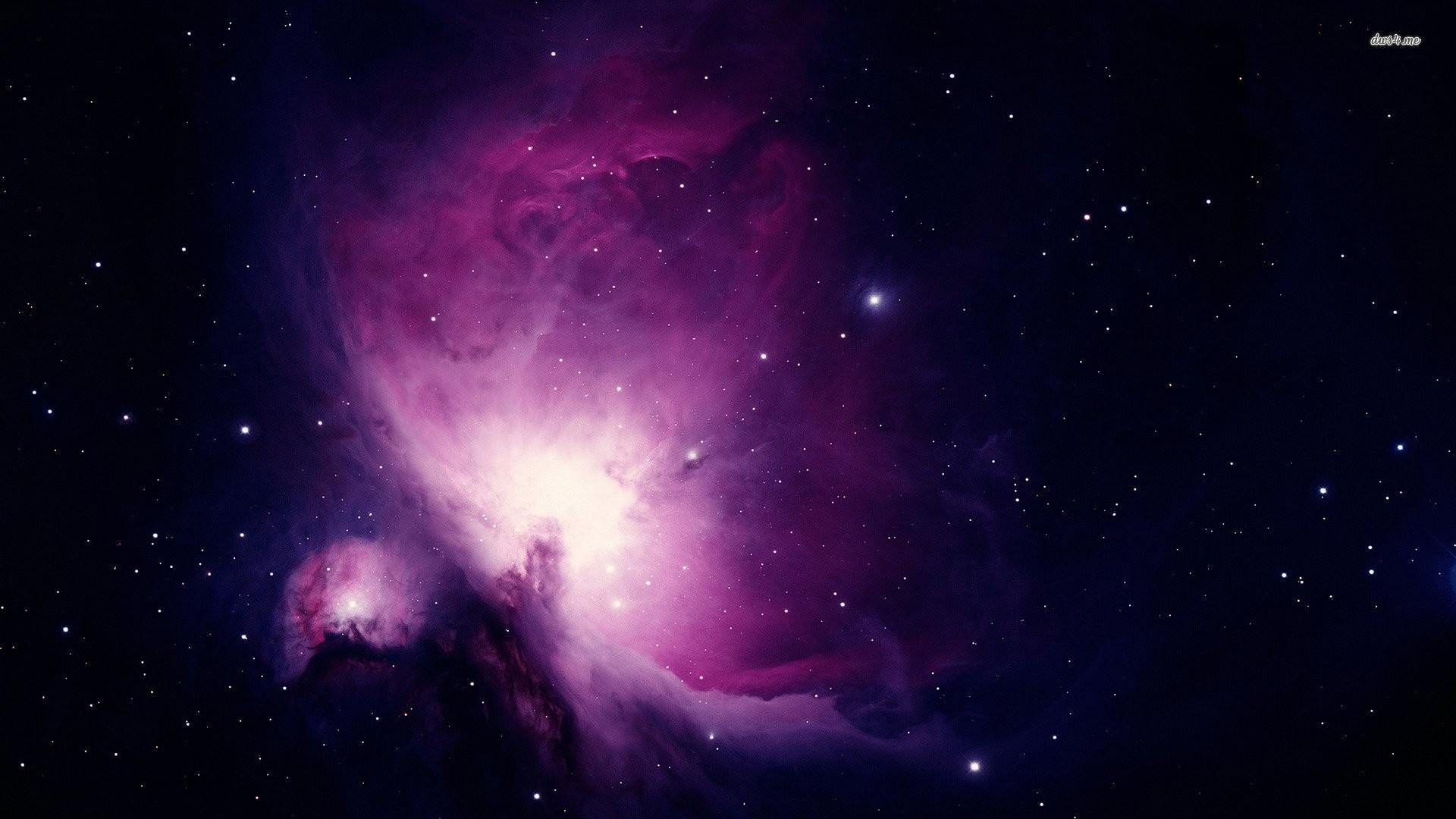 Purple Galaxy Background Wallpaper High Resolution Wallpaper