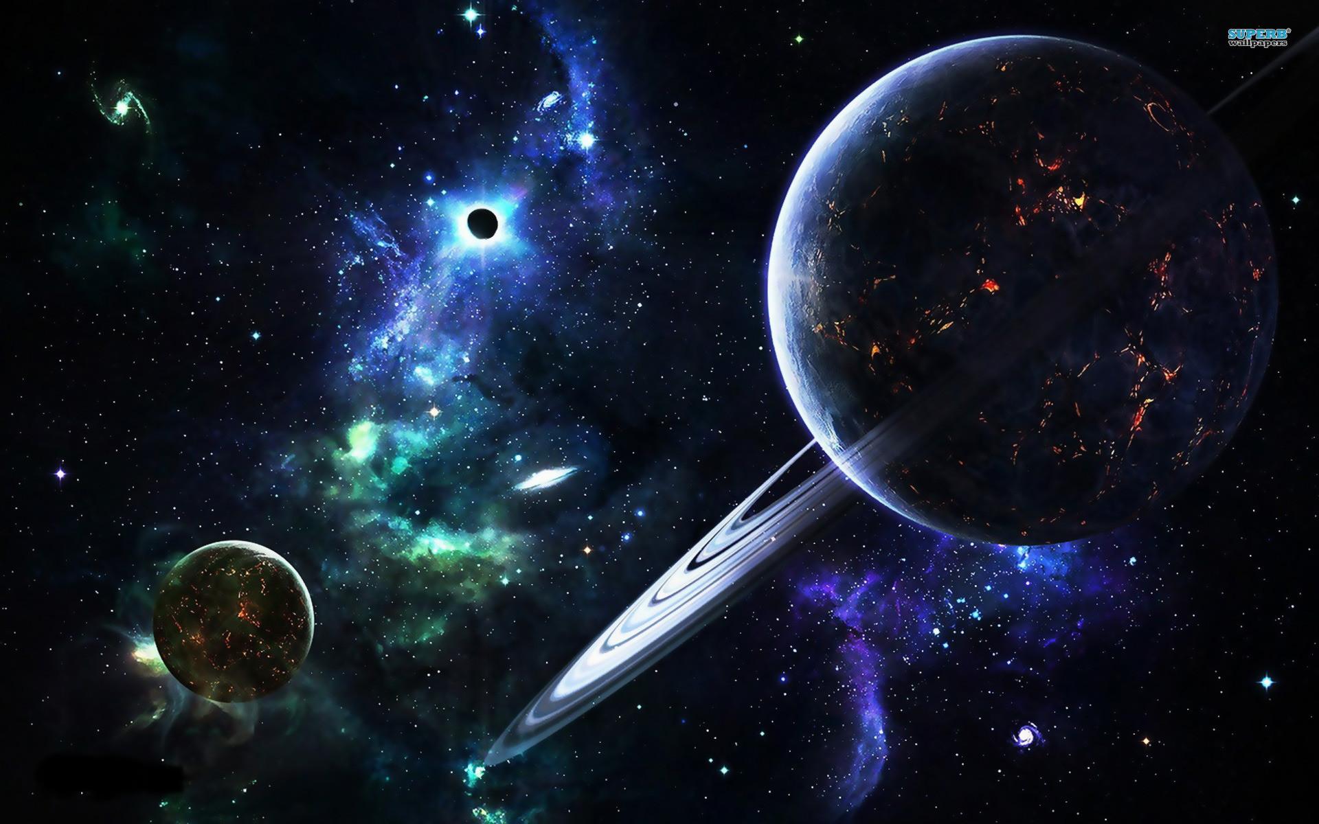Galaxy Planet Wallpaper