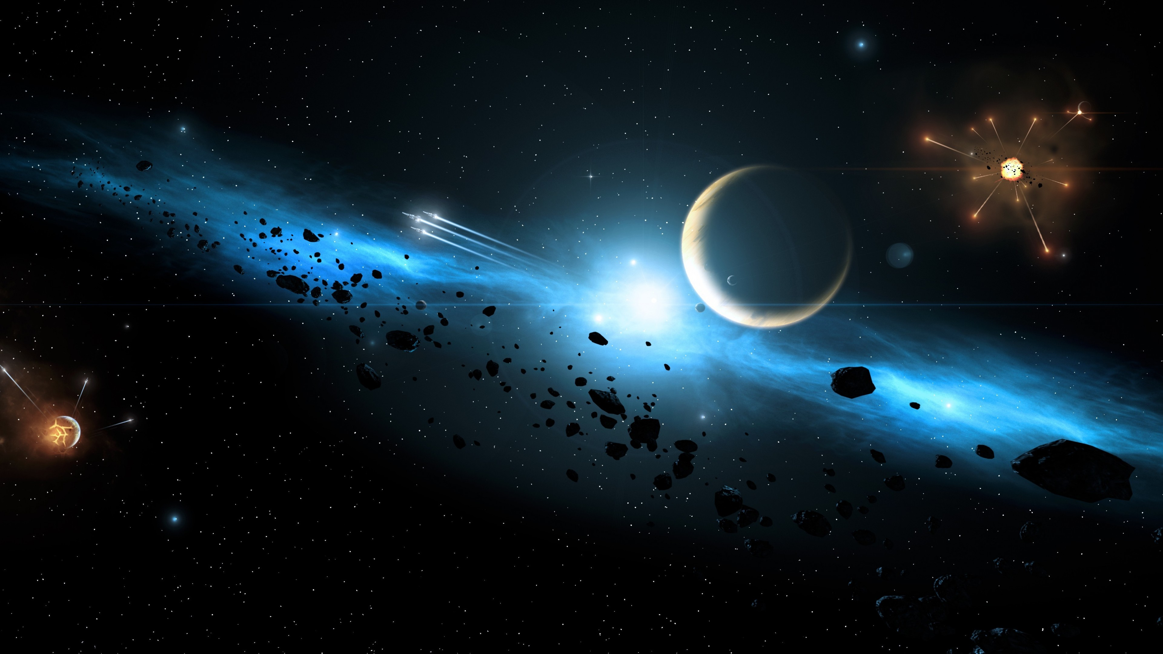 Tags: Planets, Galaxy, 5K