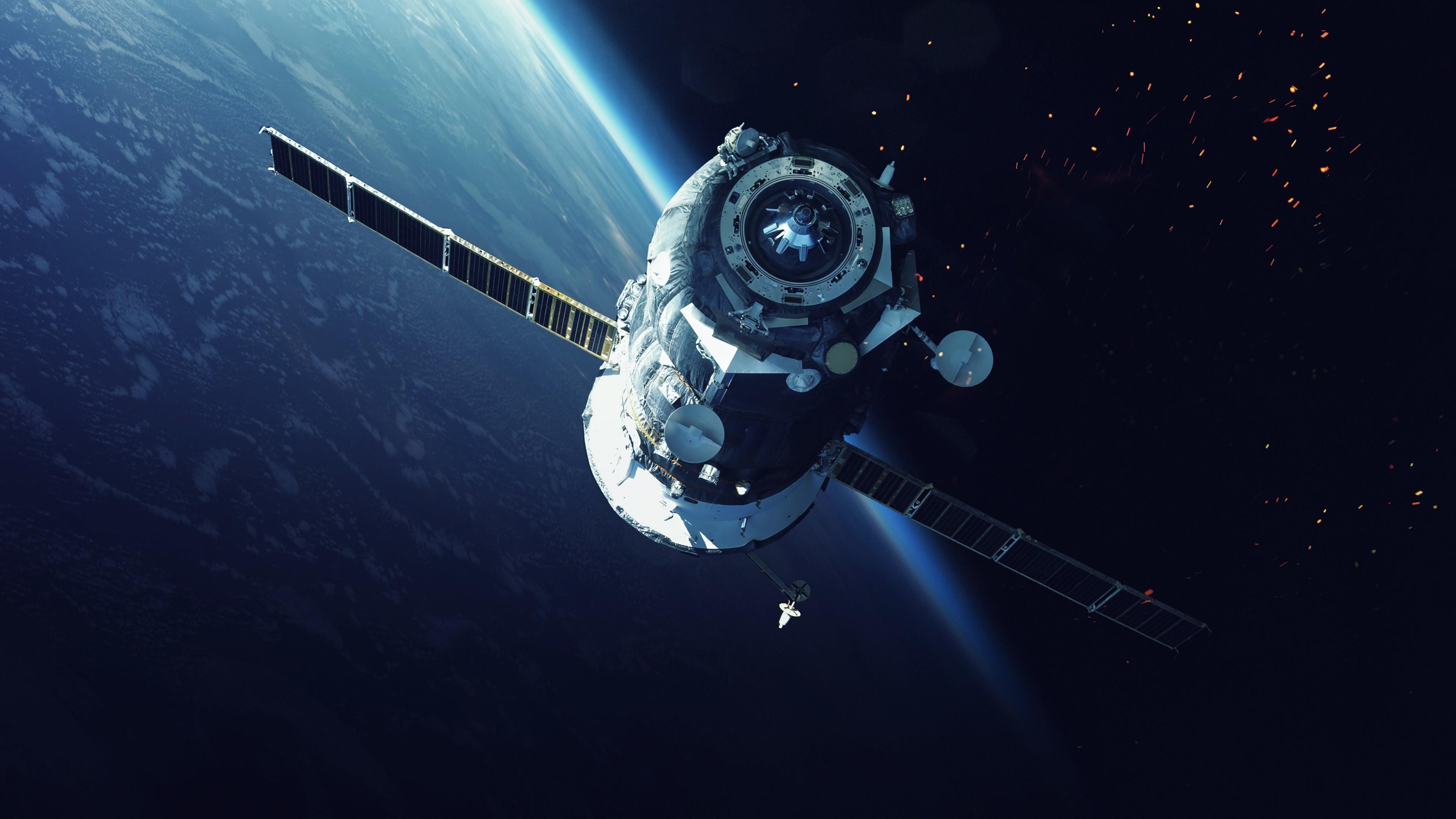 Tags: Space Satellite, NASA, 5K