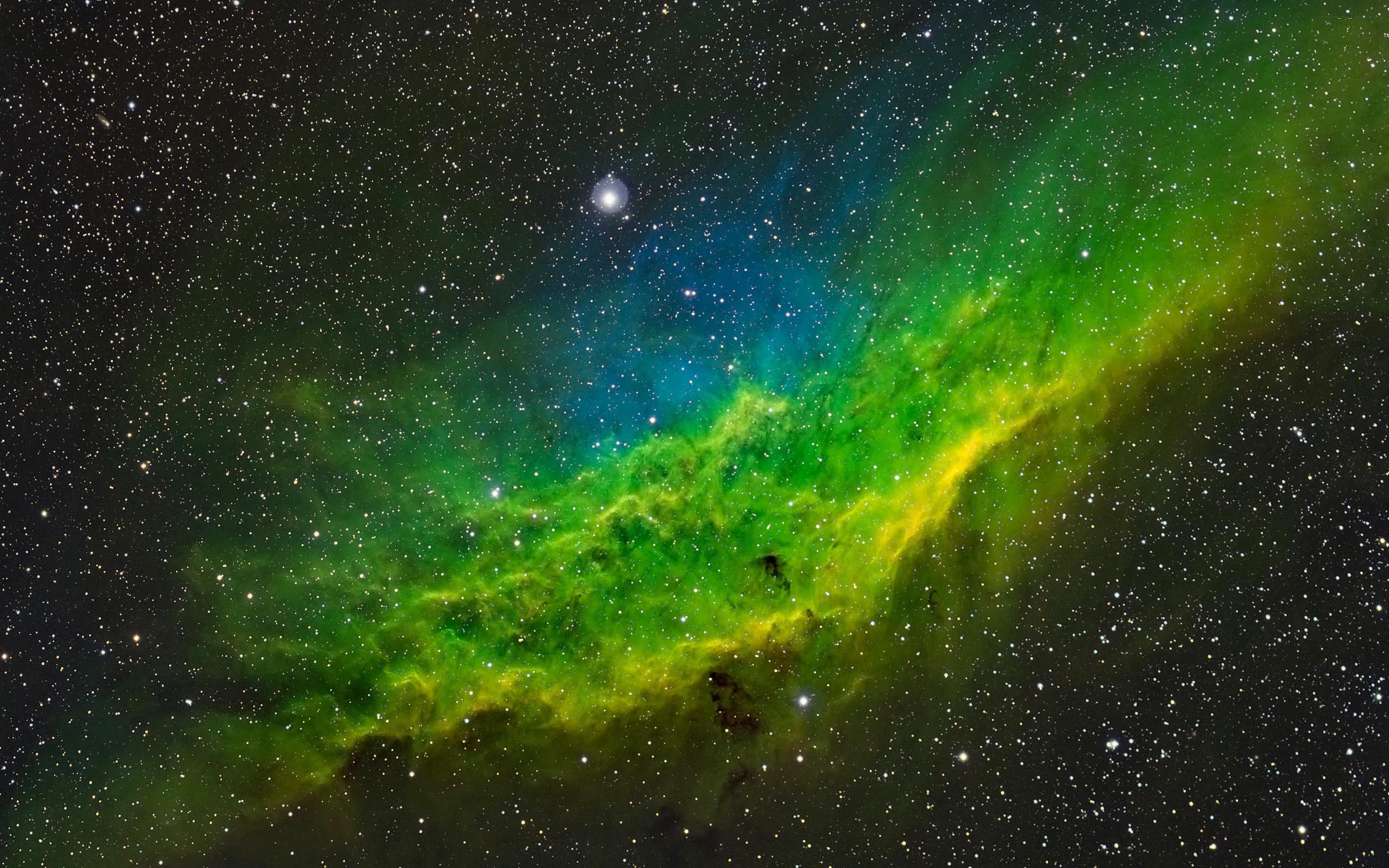 California Nebula Wallpaper