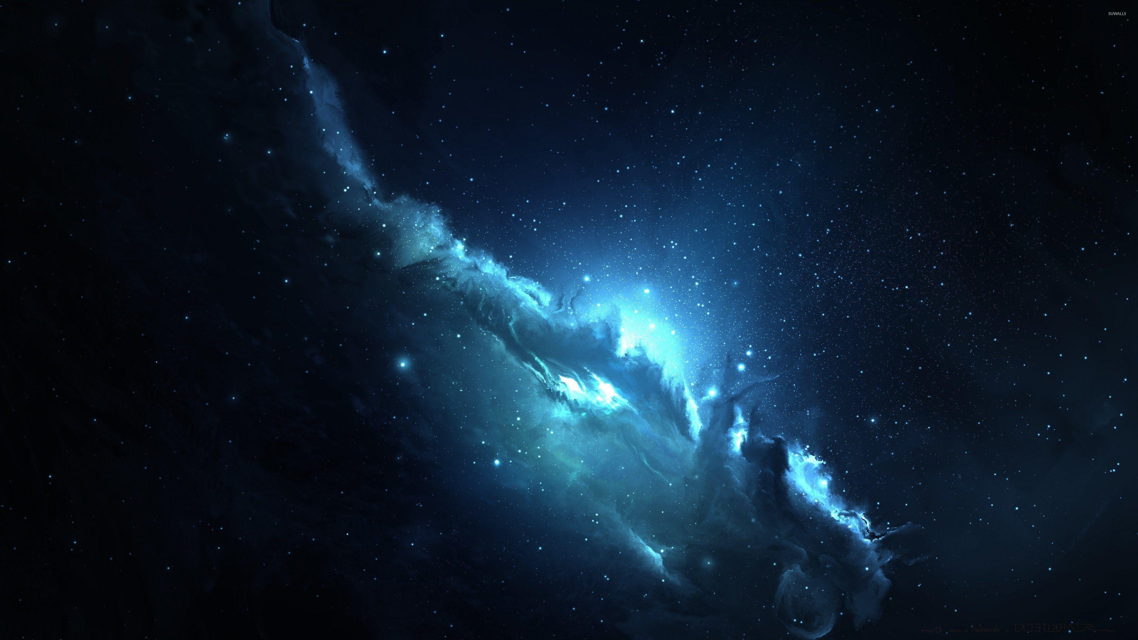 Blue nebula [3] wallpaper jpg