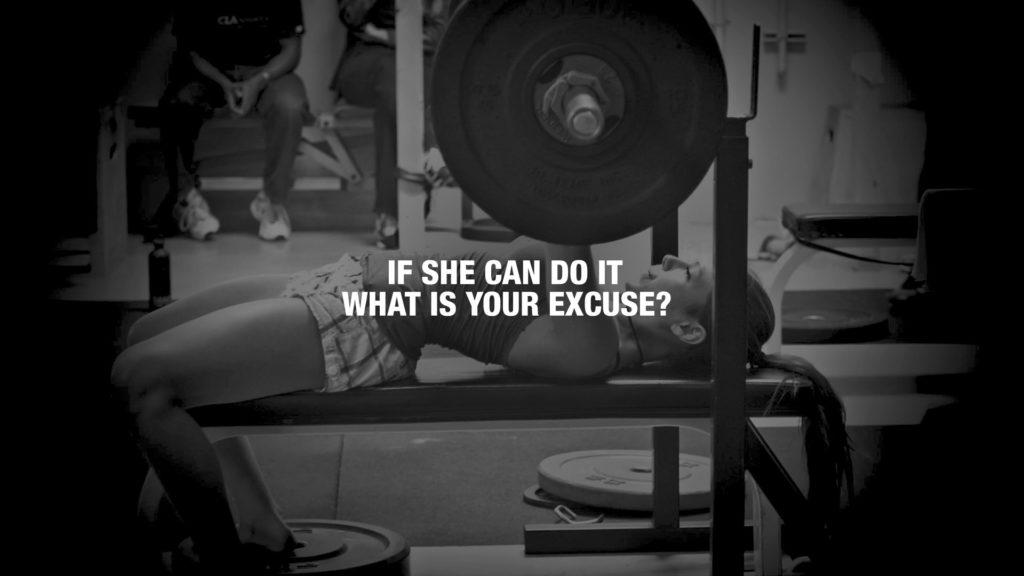 Bench Press Fitness Health Monochrome Motivational Sports Weight Lifting  Women