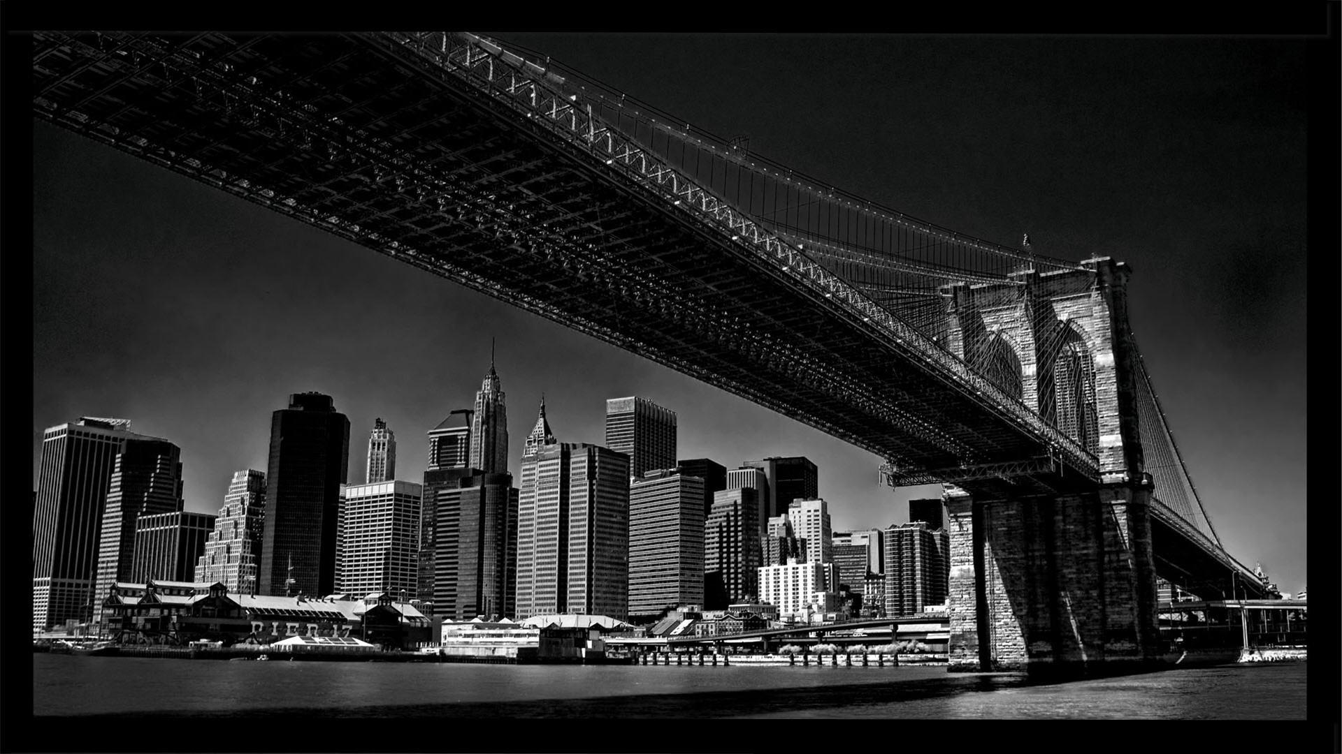 Brooklyn Bridge Border Wallpaper