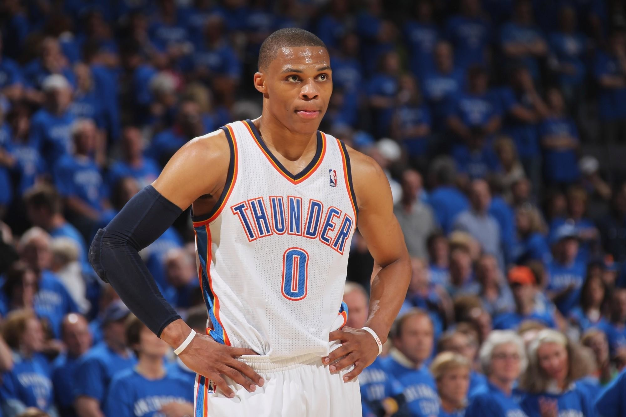 Russell Westbrook becomes first ever .